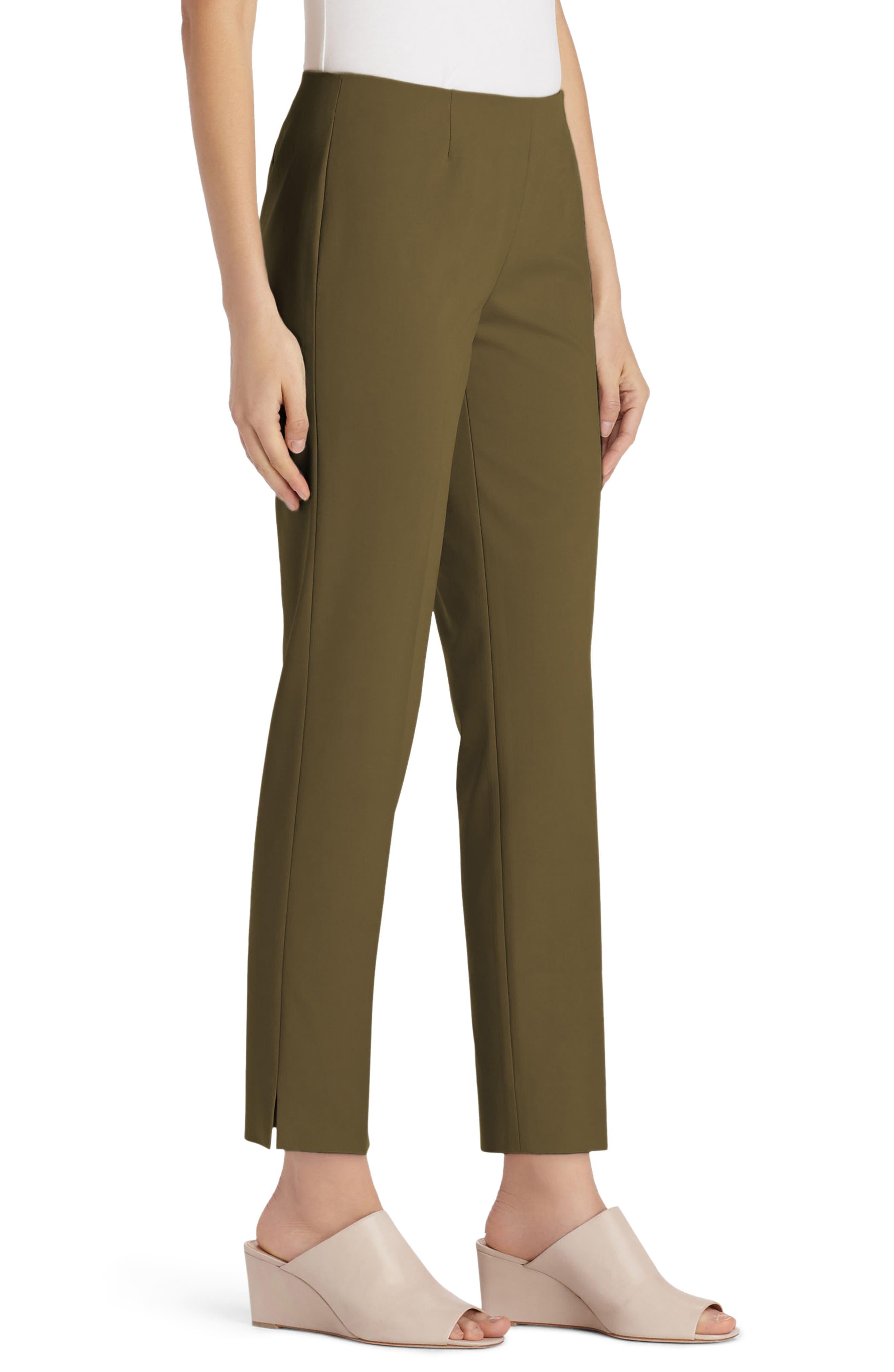 Alternate Image 3  - Lafayette 148 New York Lexington Crop Pants