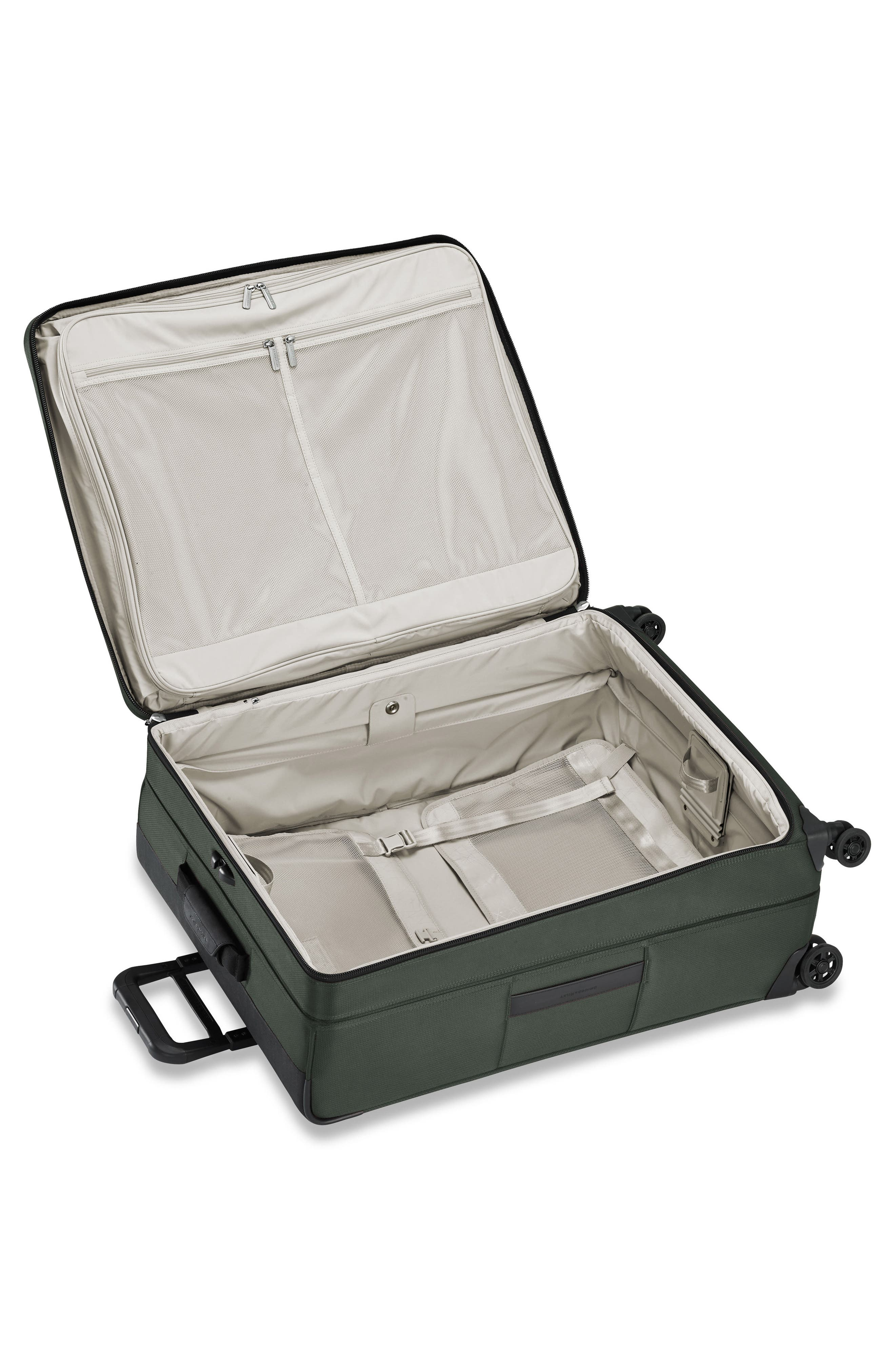 Transcend VX Large Expandable 29-Inch Spinner Suitcase,                             Alternate thumbnail 3, color,                             Rainforest Green