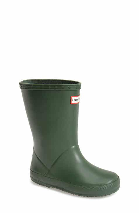 427a43c335d3d3 Hunter First Classic Waterproof Rain Boot (Walker
