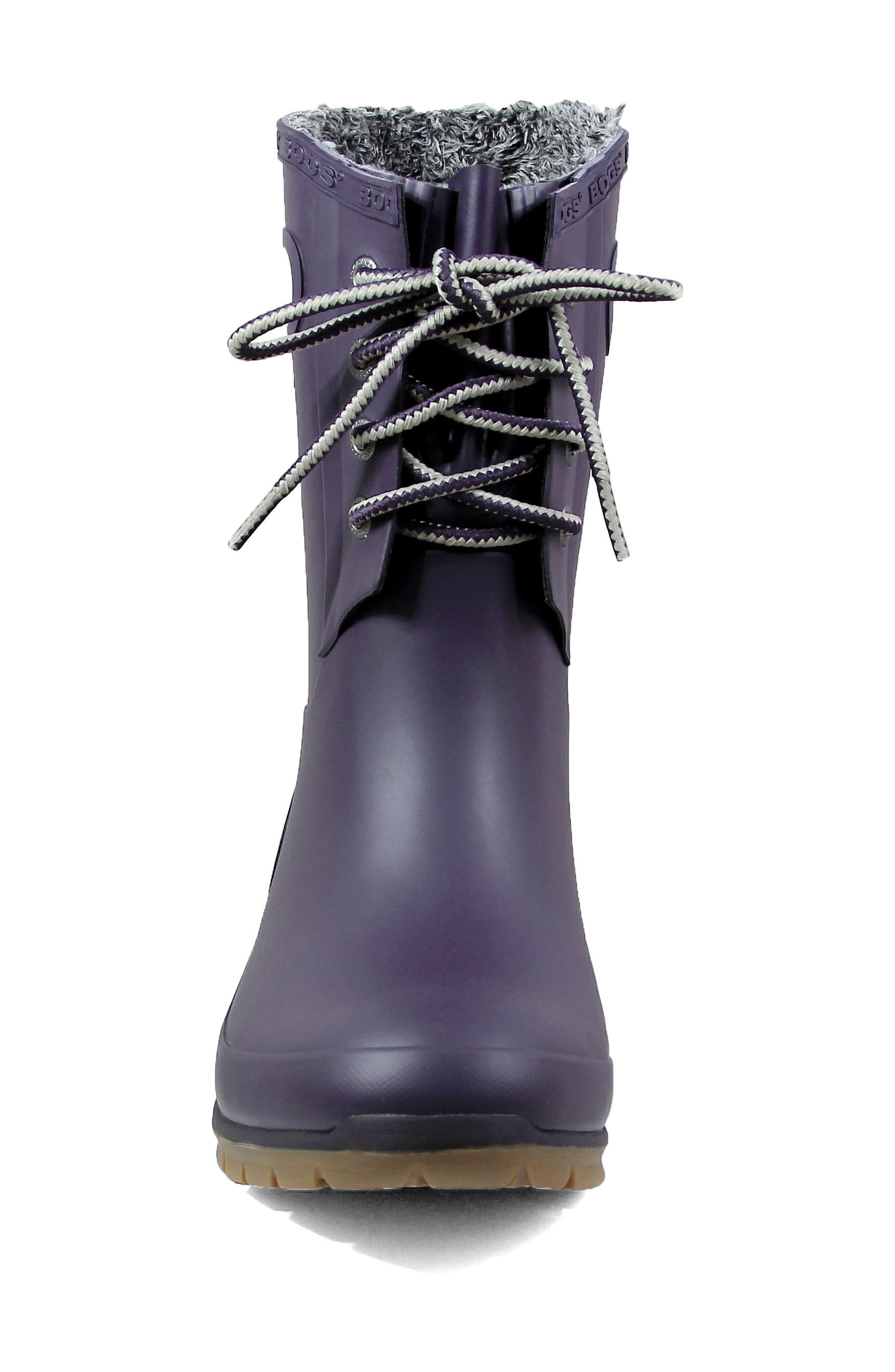 Alternate Image 4  - Bogs Amanda Plush Waterproof Rain Boot (Women)