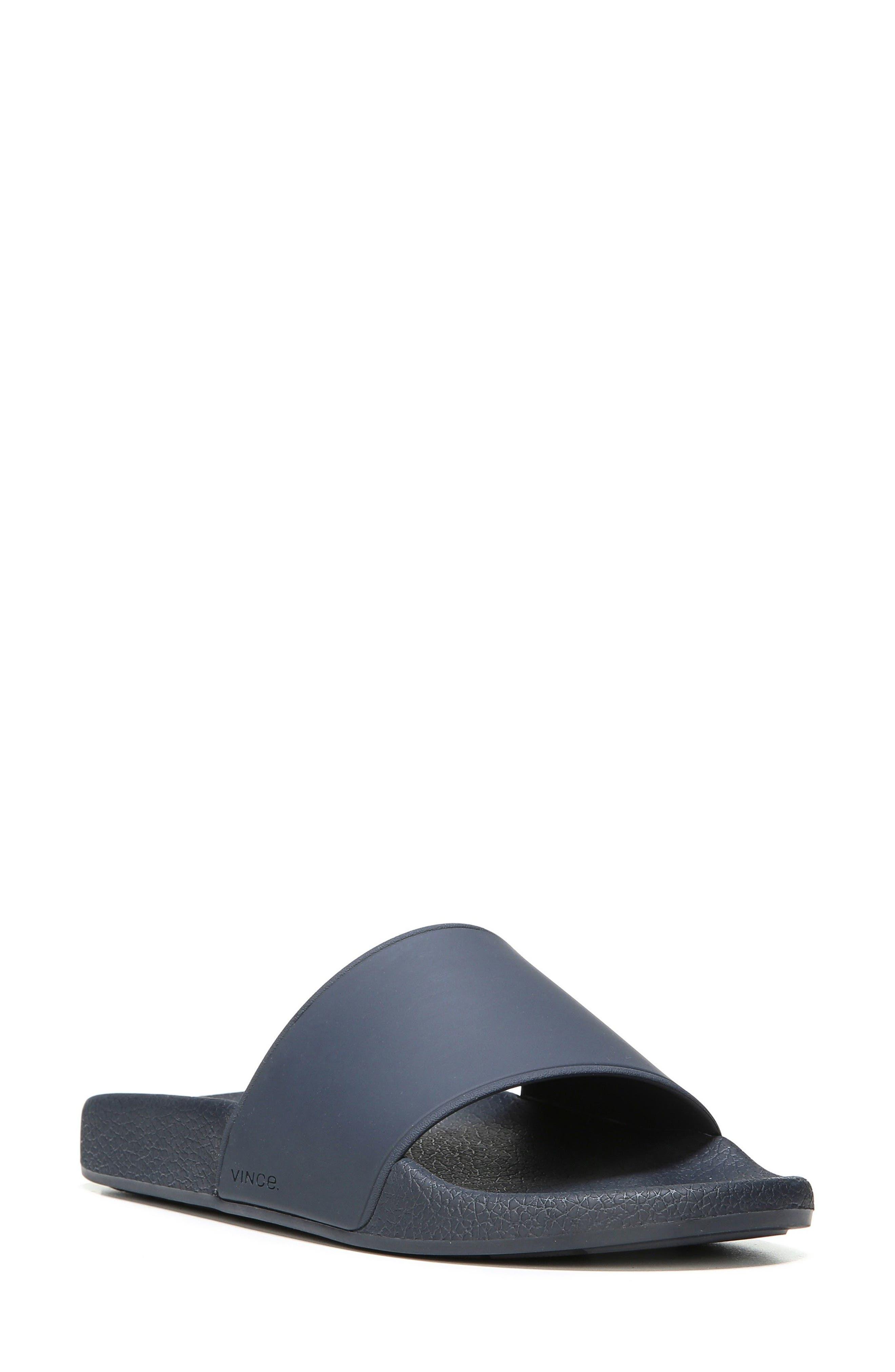 Westcoast Slide Sandal,                         Main,                         color, Coastal/ Navy