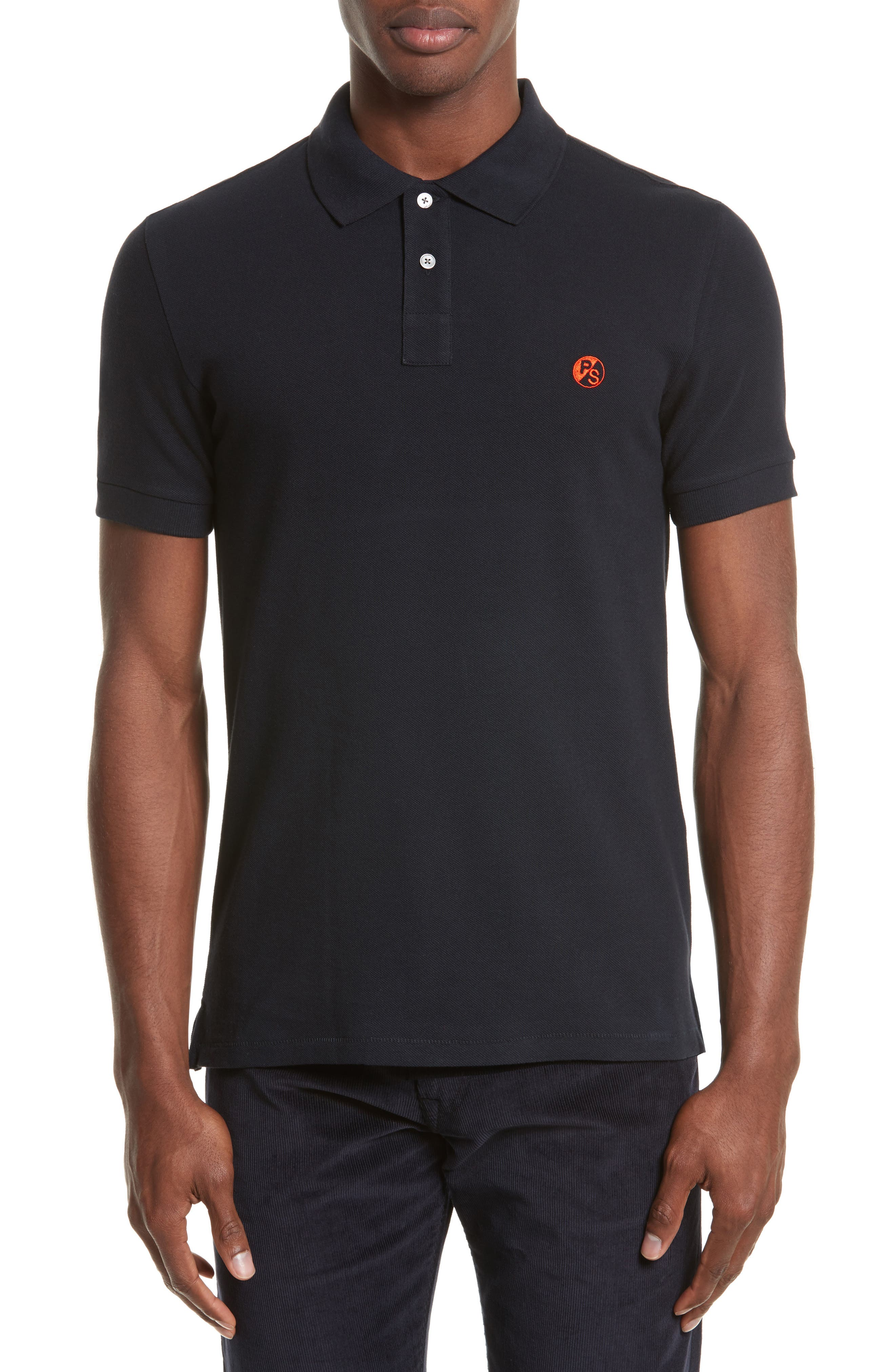 PS Paul Smith Slim Logo Polo