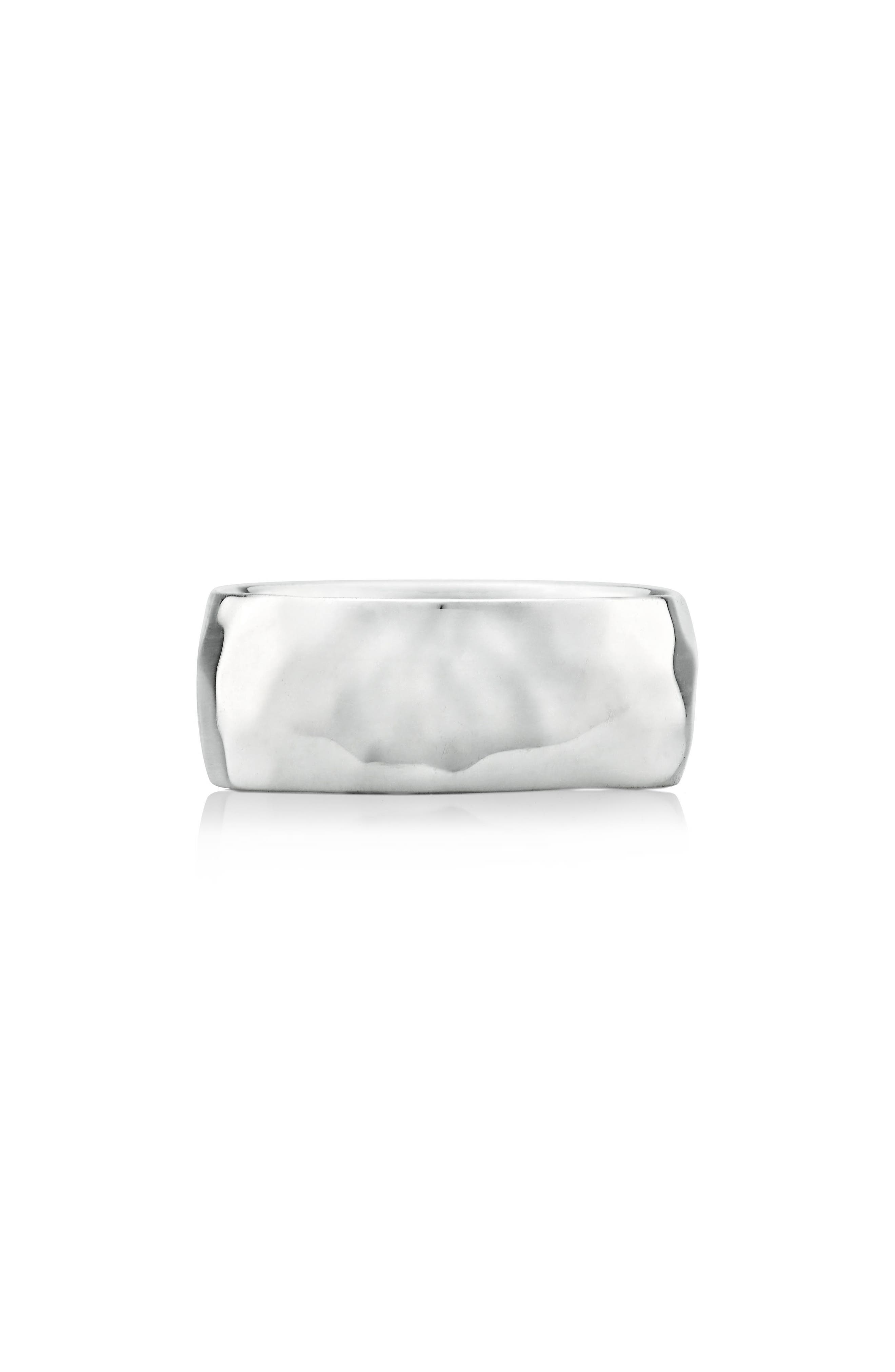 Main Image - Monica Vinader Alta Hammered Ring