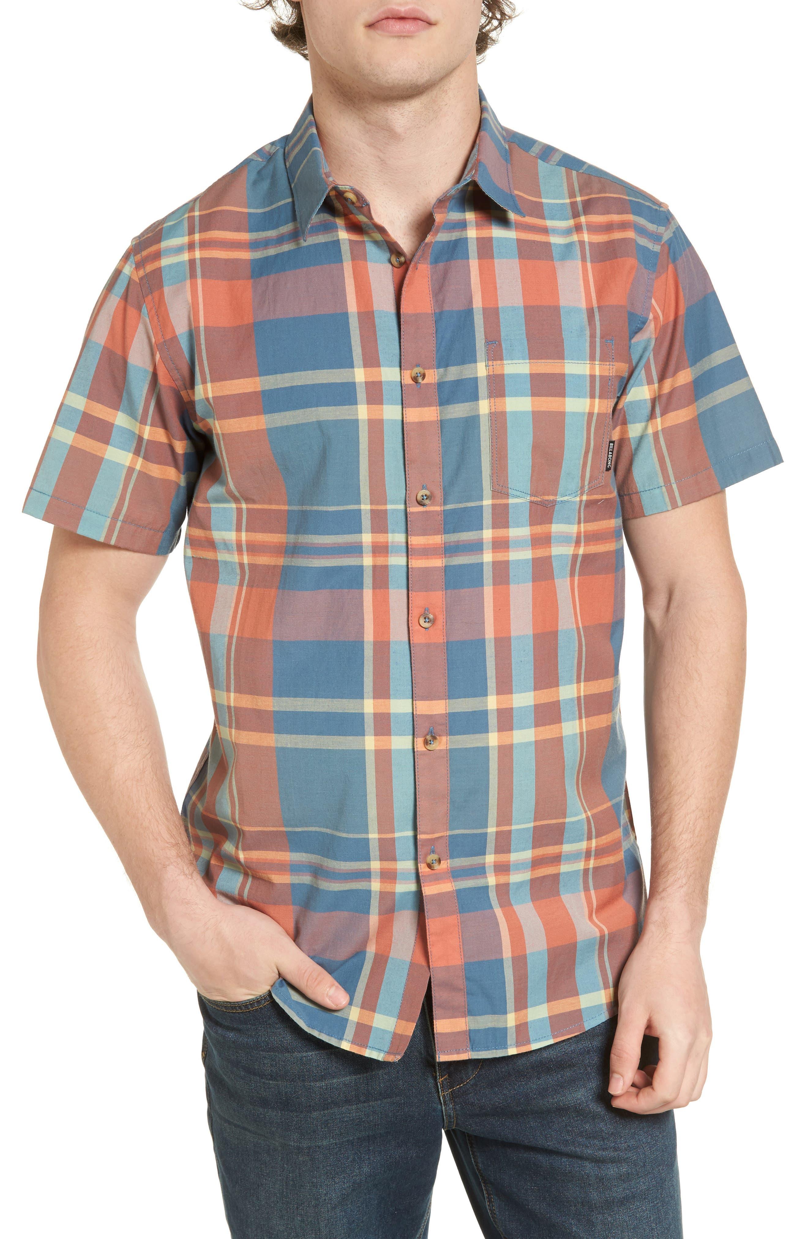 Billabong Hyde Plaid Woven Shirt