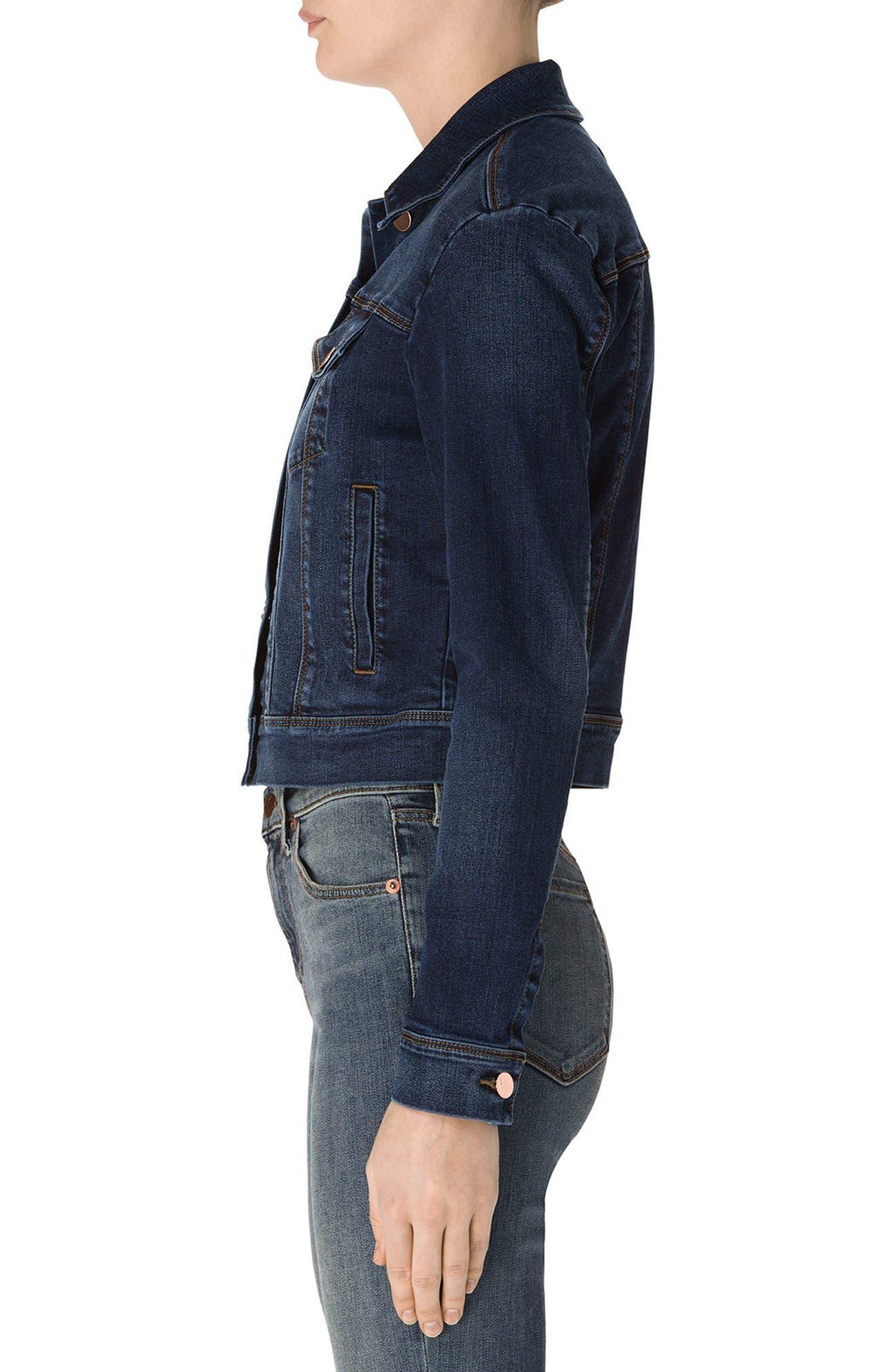 Alternate Image 3  - J Brand Harlow Shrunken Denim Jacket
