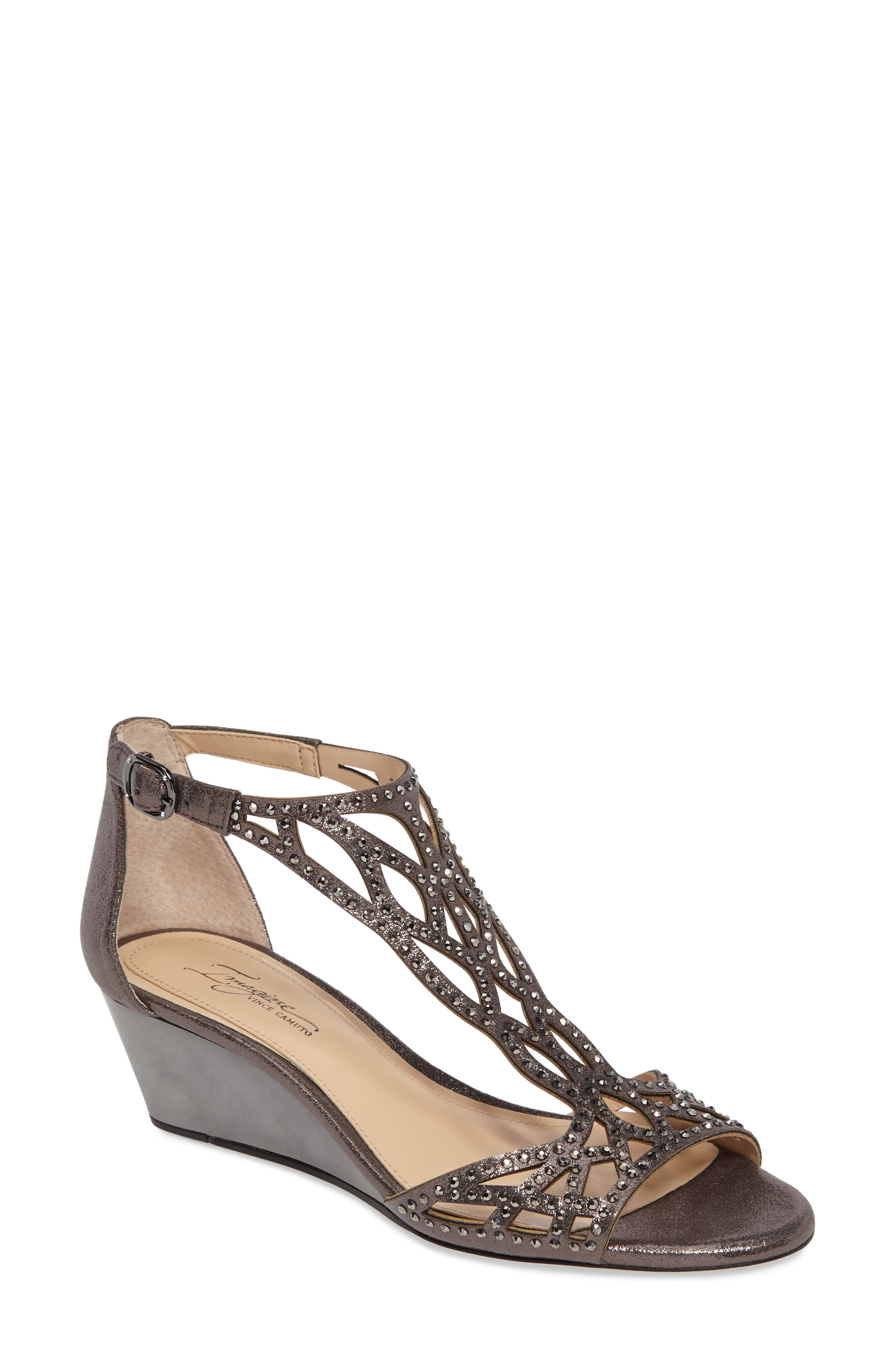 Alternate Image 1 Selected - Imagine by Vince Camuto 'Jalen' Wedge Sandal (Women)