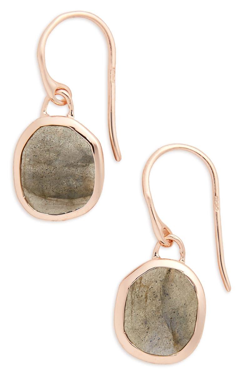 Monica Vinader Earrings SIREN SEMIPRECIOUS STONE DROP EARRINGS