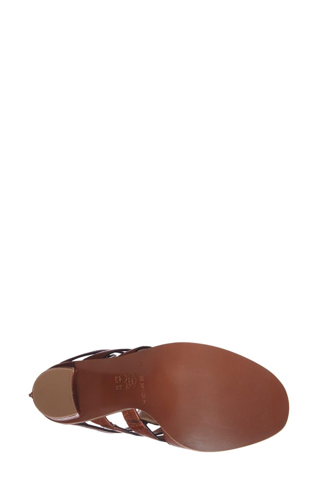 Alternate Image 4  - Via Spiga 'Brandina' Leather Sandal (Women)