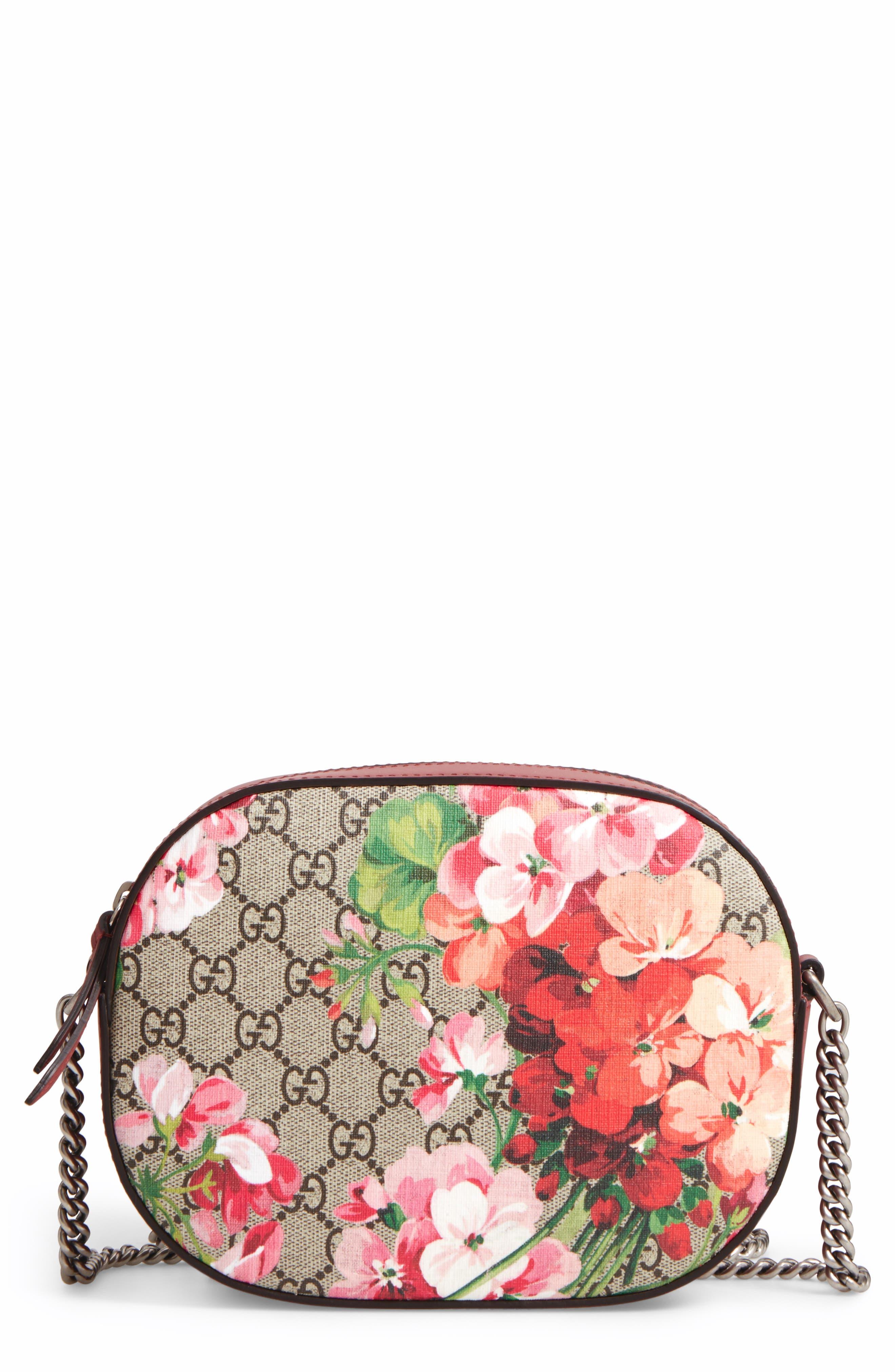 Gucci GG Blooms Supreme Canvas Shoulder Bag