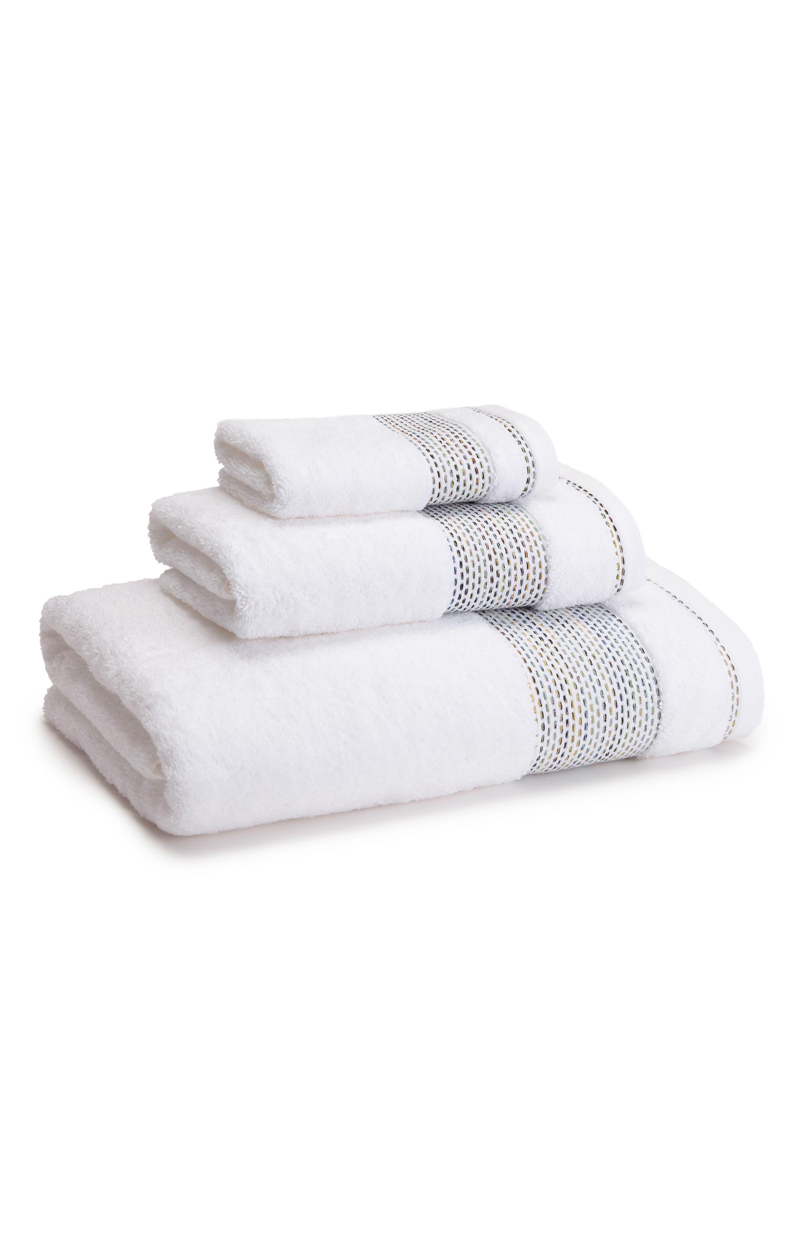 Alternate Image 1 Selected - KASSATEX Carnaby Hand Towel