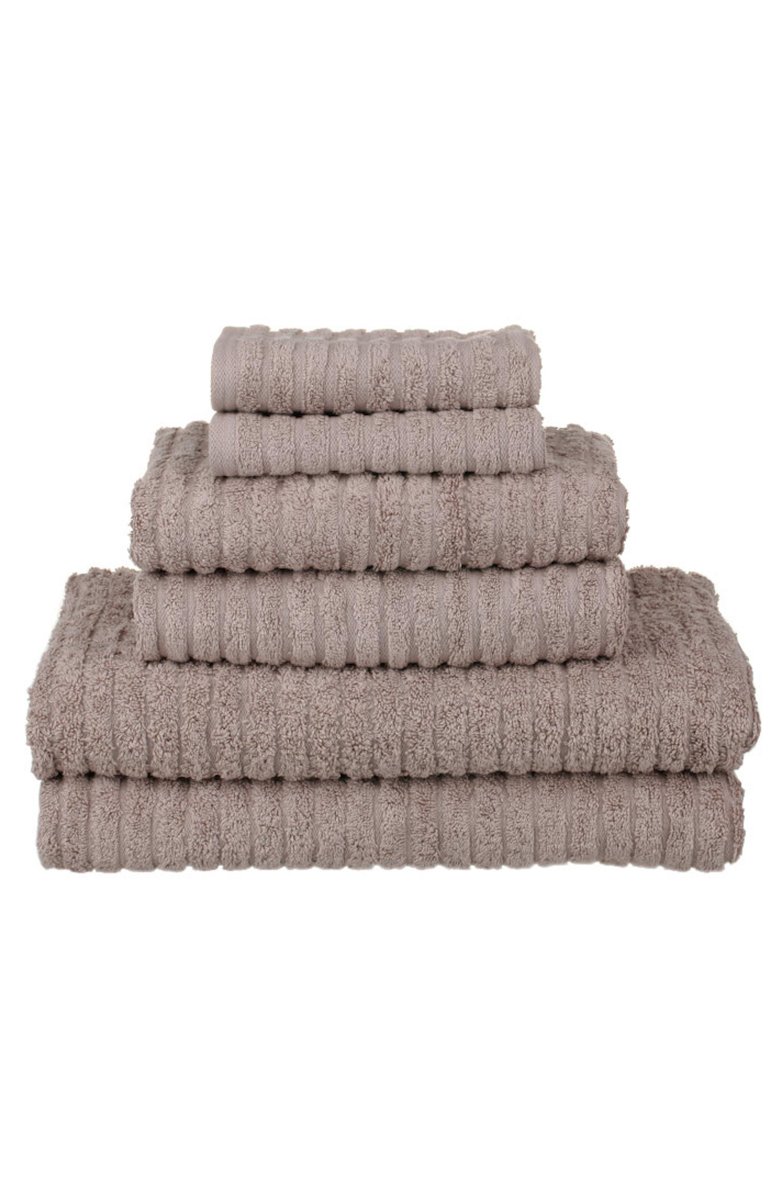 Glo 6-Piece Organic Cotton Towel Set