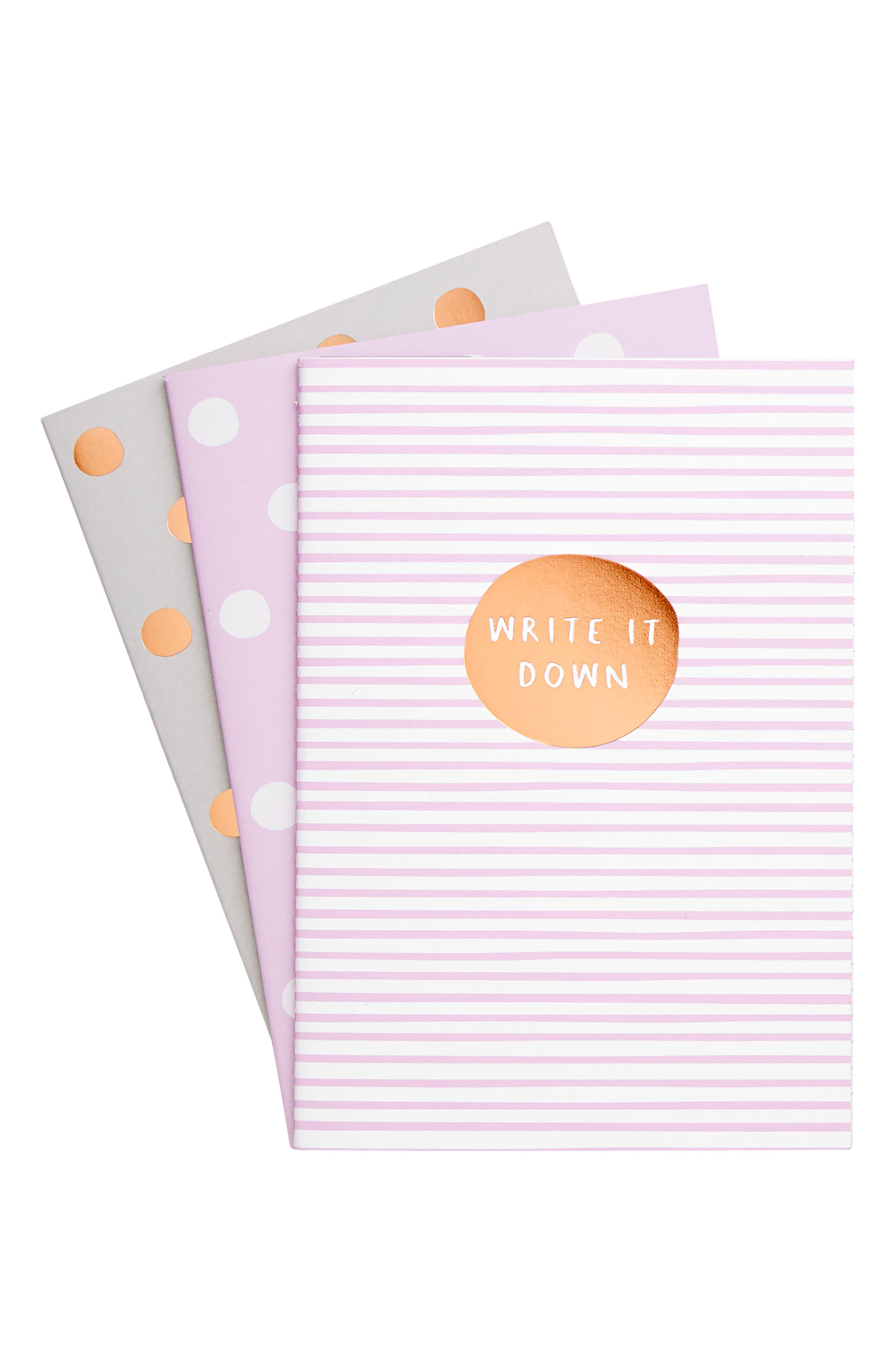 Alternate Image 1 Selected - kikki.K 3-Pack A5 Essential Notepads