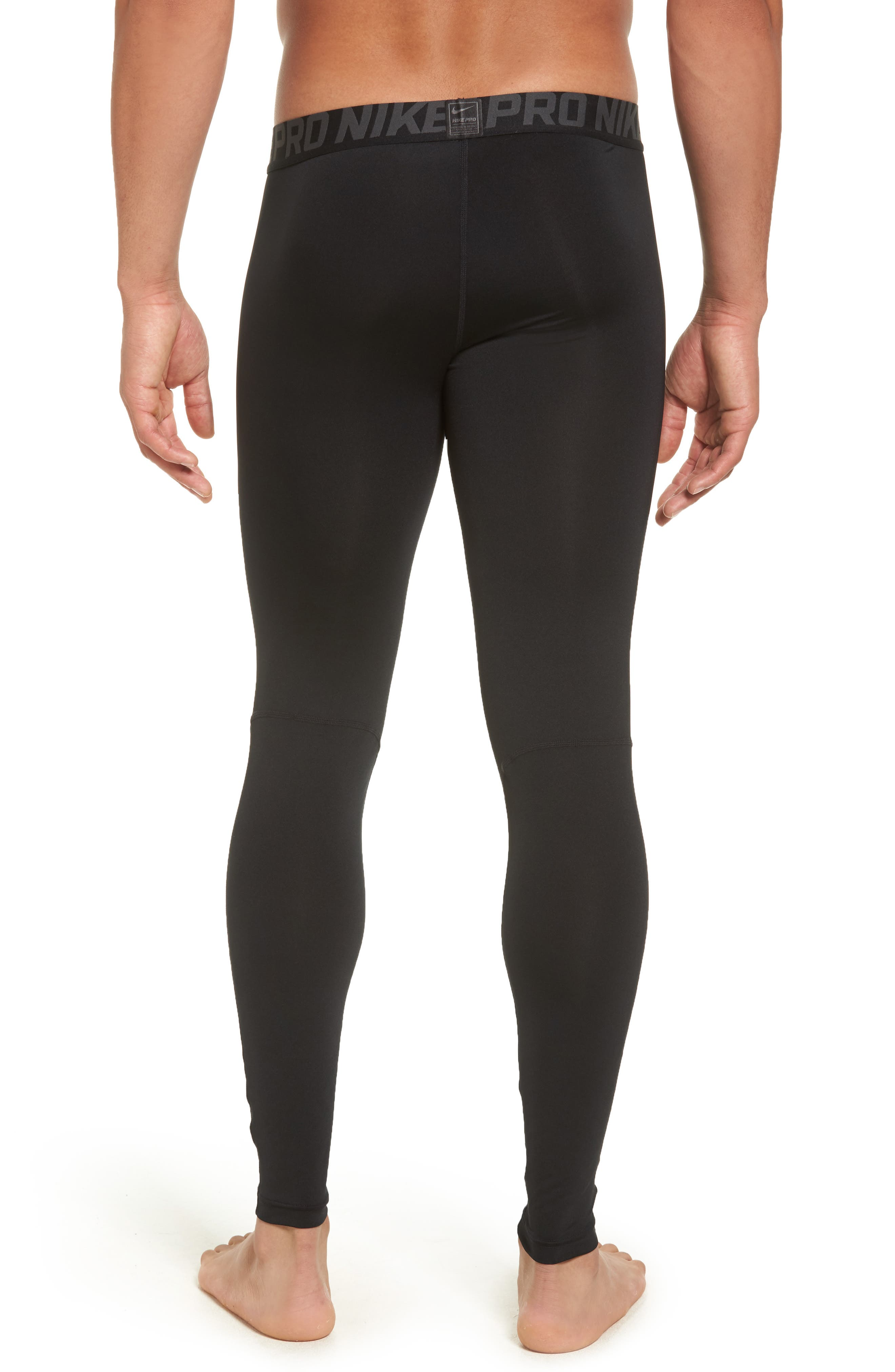 Alternate Image 2  - Nike Pro Three Quarter Training Tights