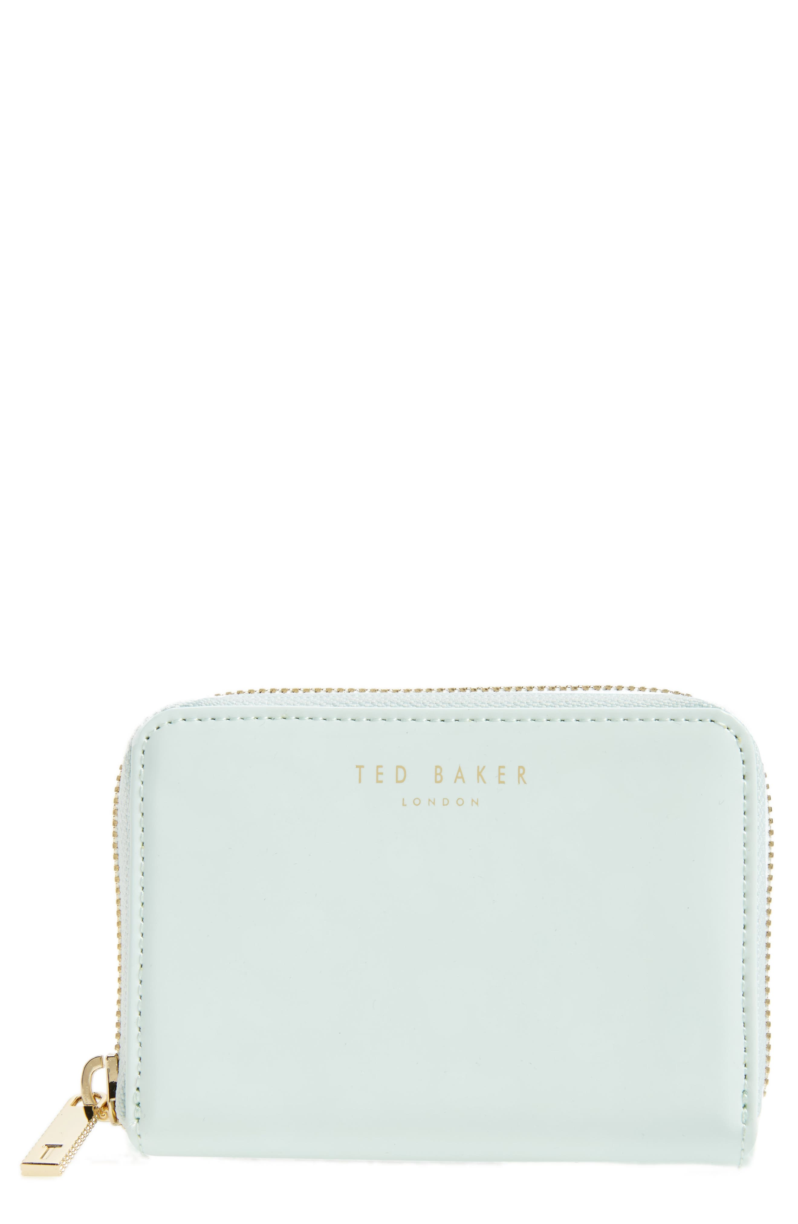 Main Image - Ted Baker London Beryl Leather Mini Purse