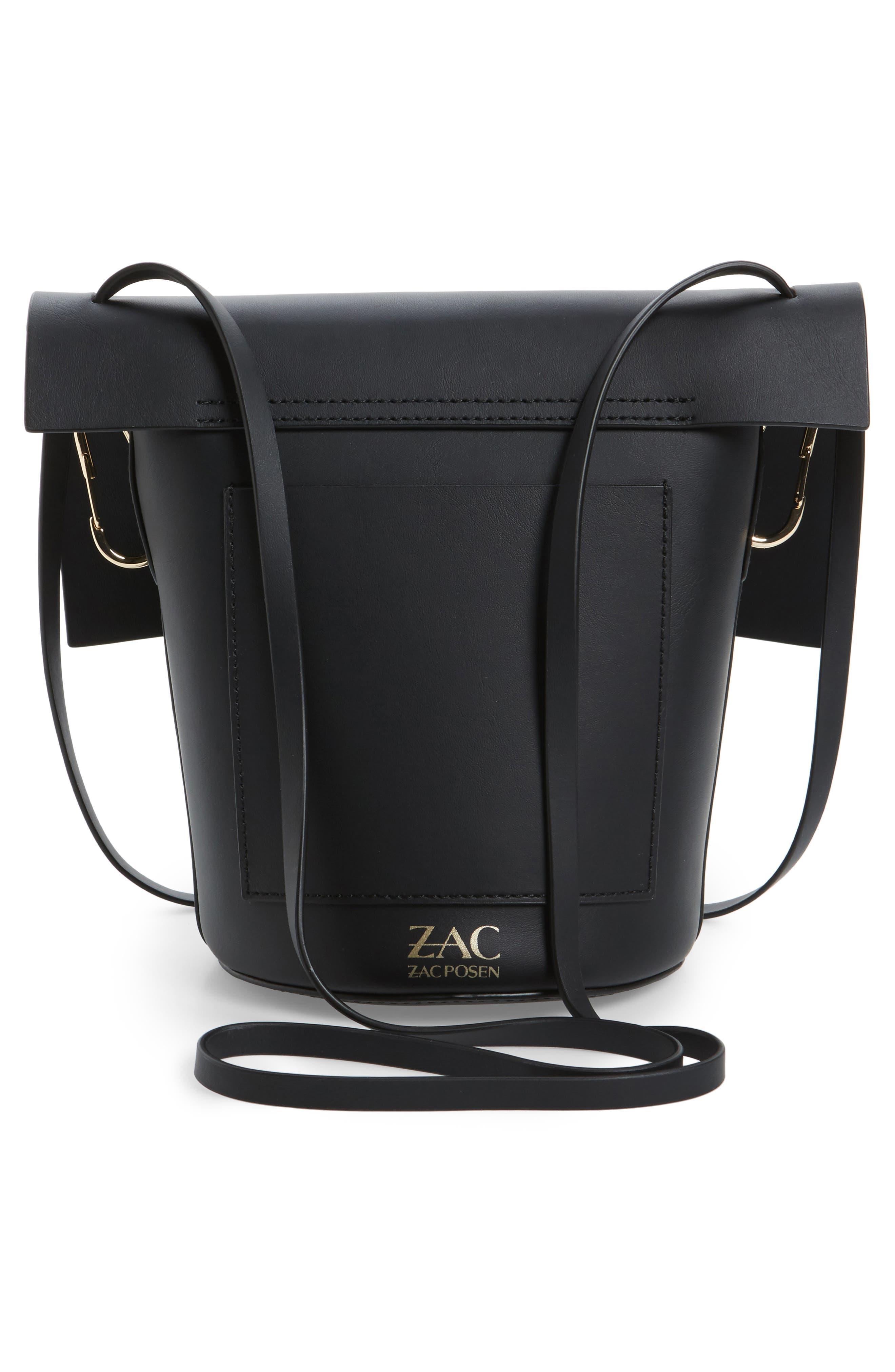 Belay Leather Crossbody Bag,                             Alternate thumbnail 2, color,                             Black