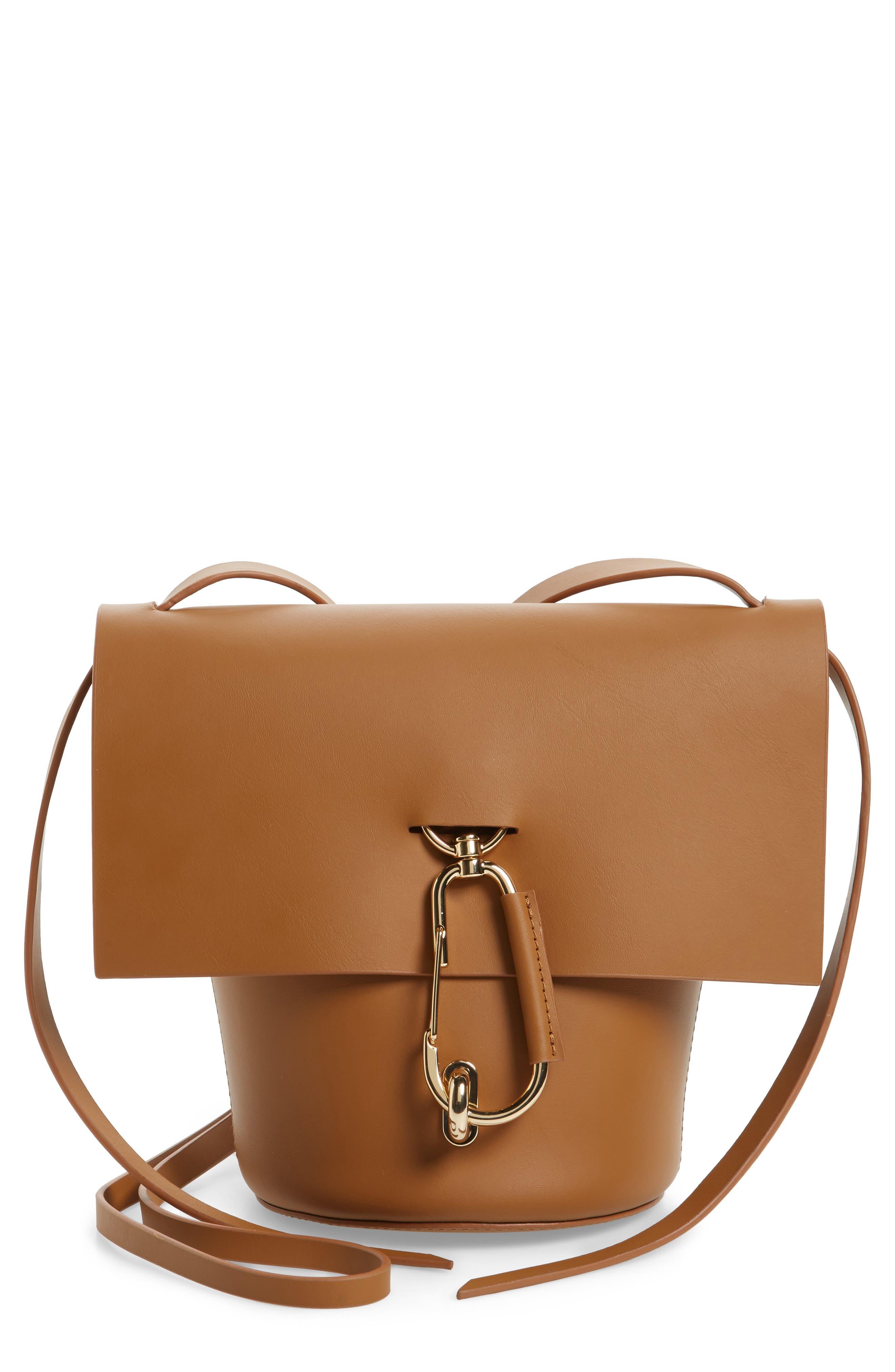 Main Image - ZAC Zac Posen Belay Leather Crossbody Bag