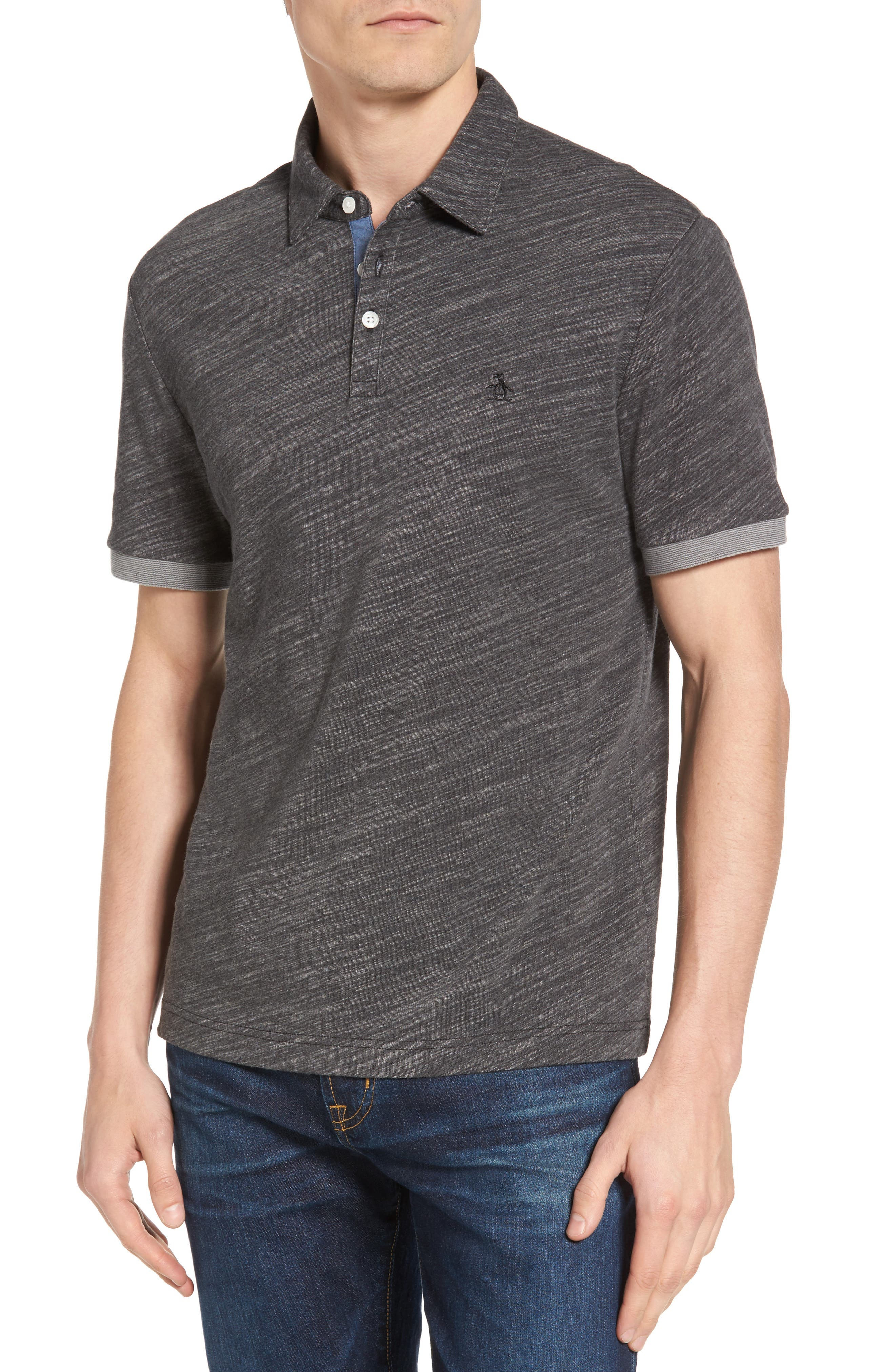 Original Penguin Slub Jersey Polo