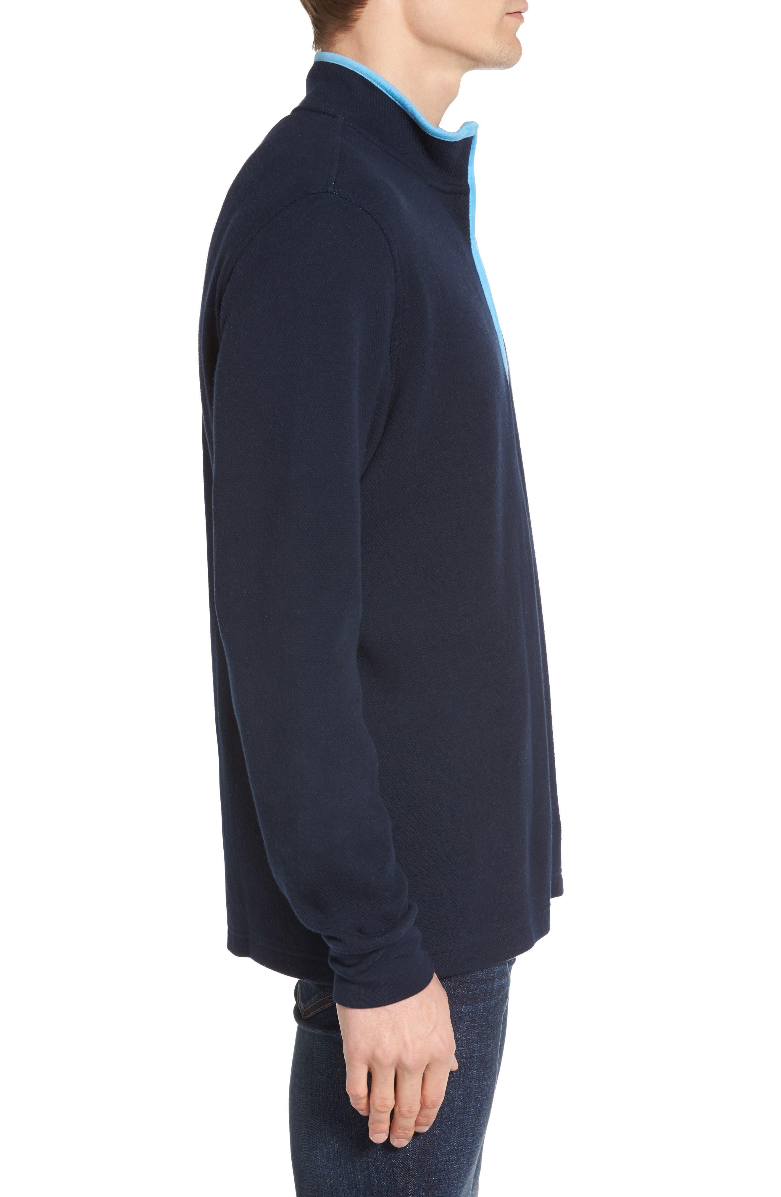 Alternate Image 3  - Psycho Bunny Golf Half Zip Pullover