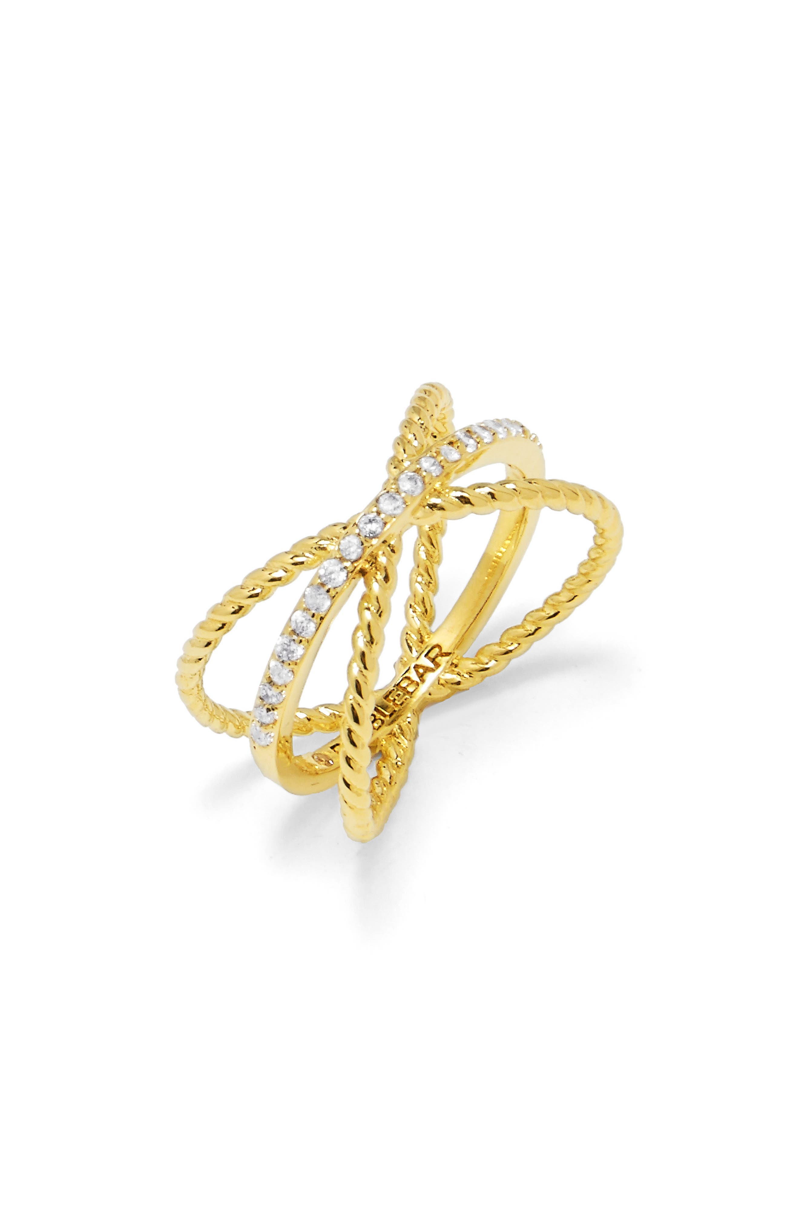 BaubleBar Maddy X Crossover Ring