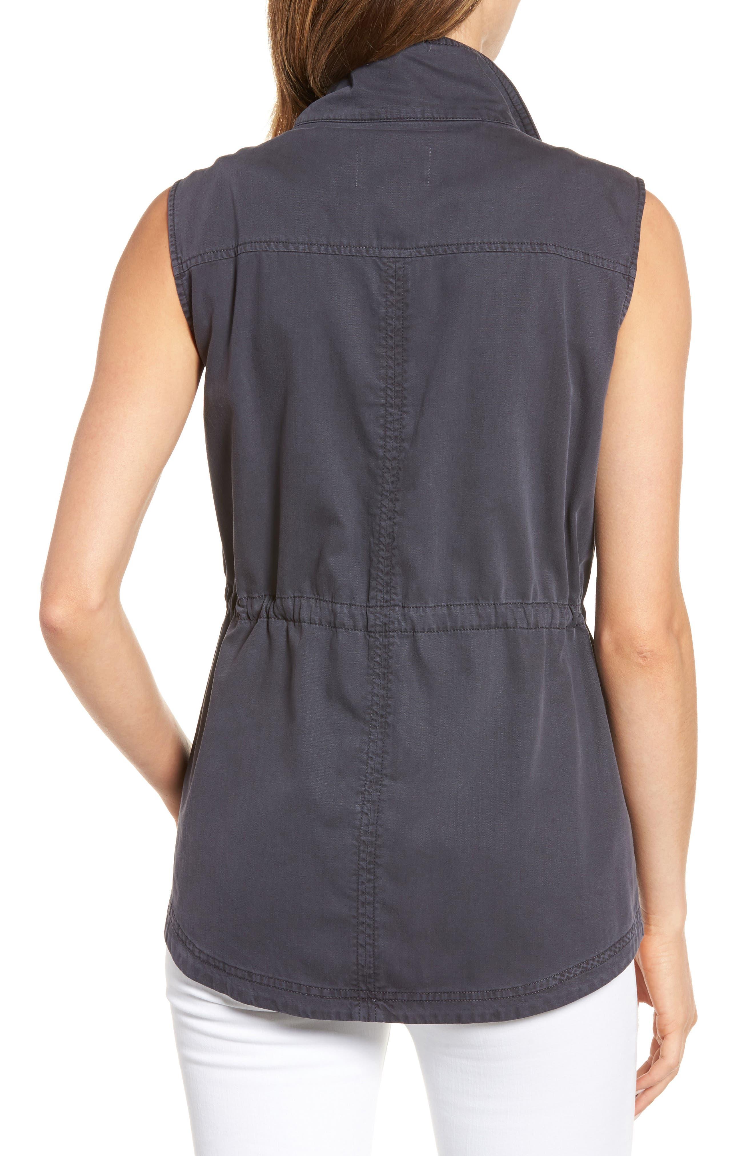 Utility Vest,                             Alternate thumbnail 2, color,                             Grey Ebony