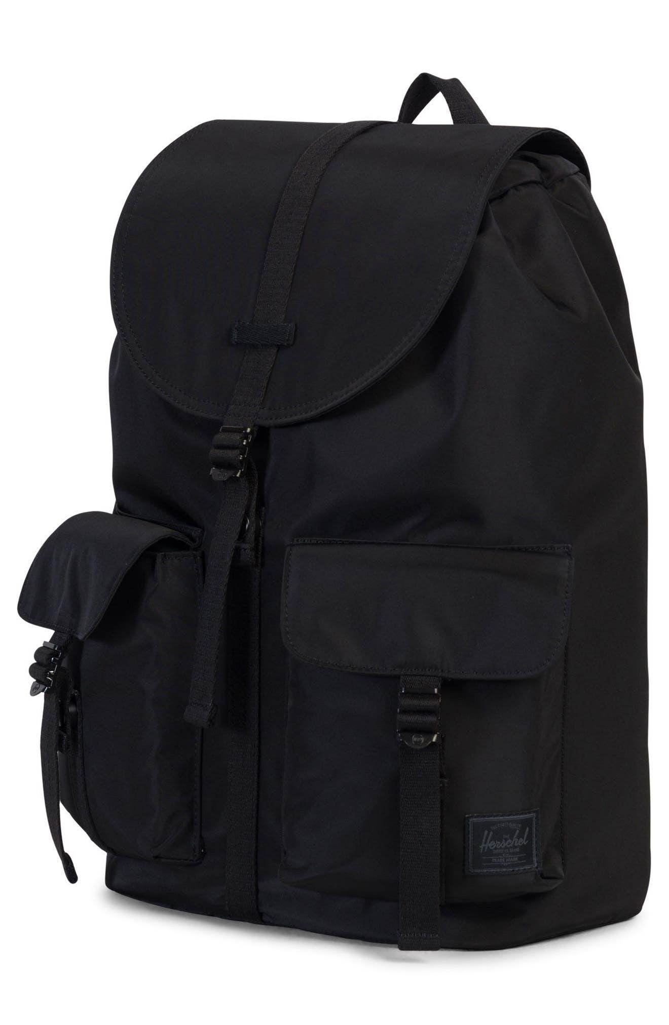 Dawson Surplus Collection Backpack,                             Alternate thumbnail 4, color,                             Black