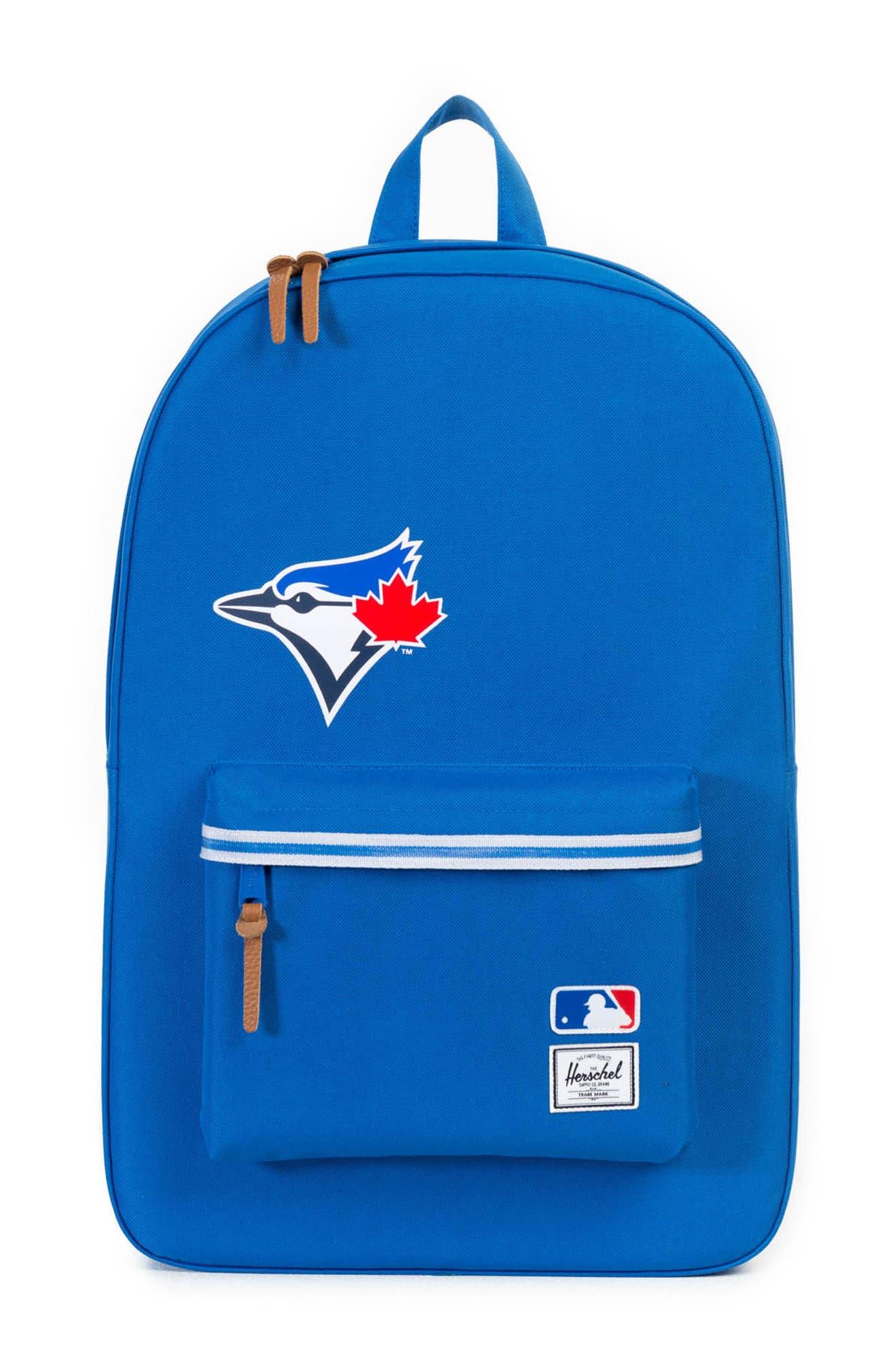 Heritage Toronto Blue Jays Backpack,                             Main thumbnail 1, color,                             Toronto Blue Jays