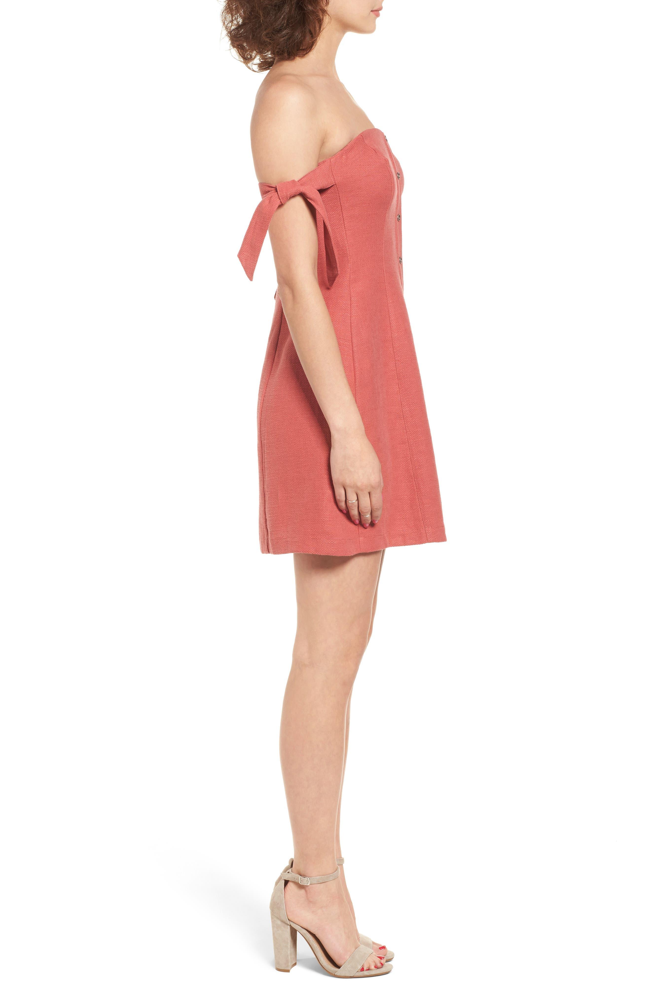 Alternate Image 3  - ASTR the Label Araceli Minidress