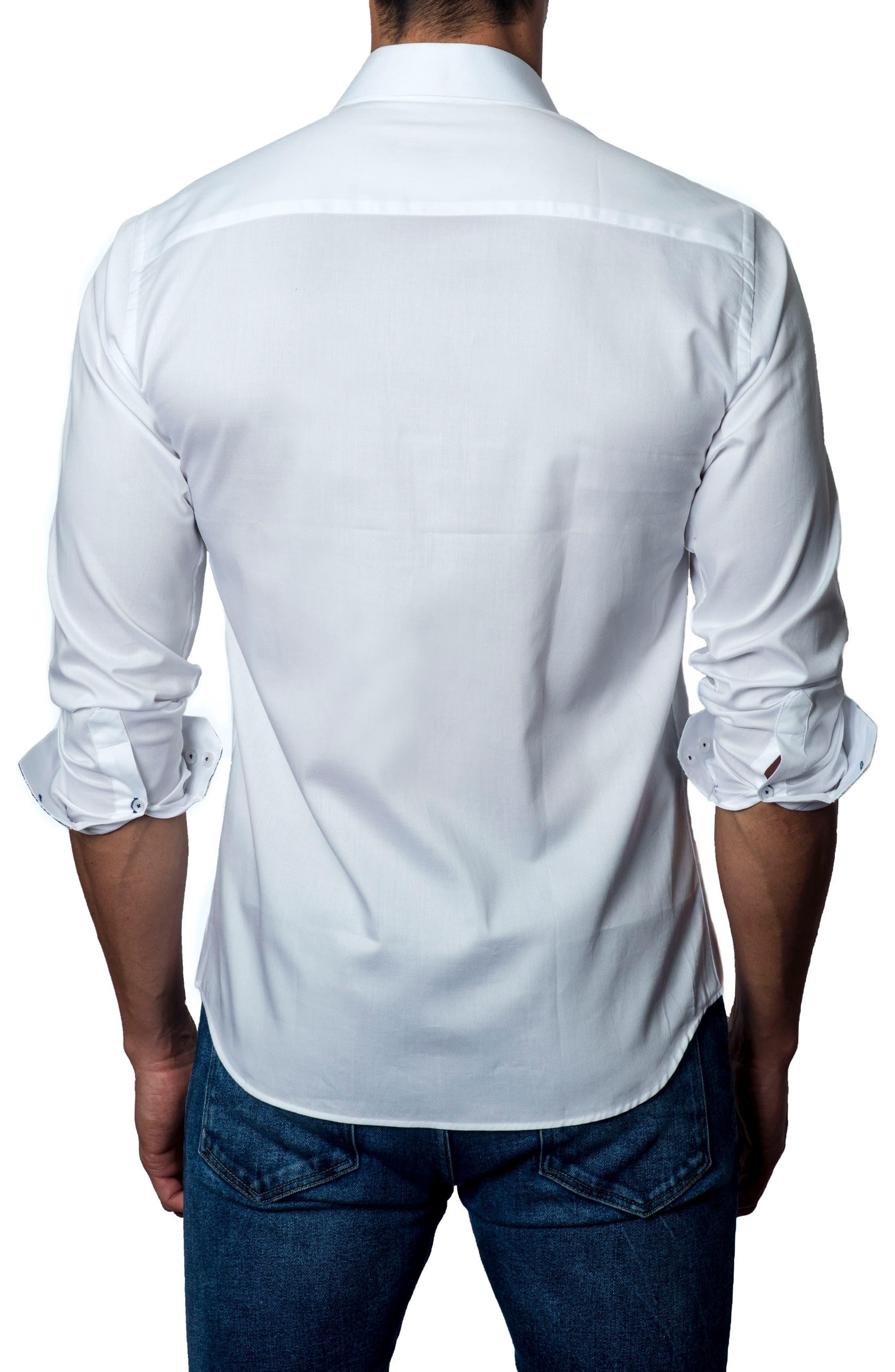 Sport Shirt,                             Alternate thumbnail 2, color,                             White
