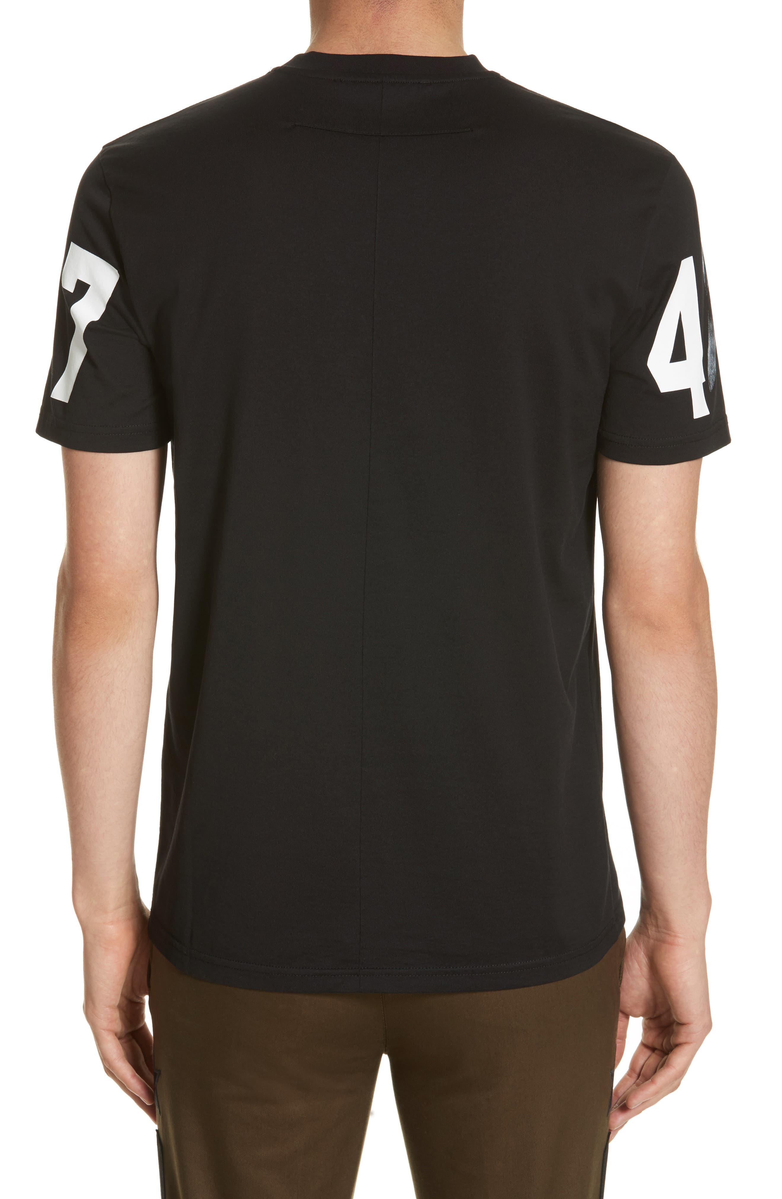 Cuban Fit Graphic T-Shirt,                             Alternate thumbnail 2, color,                             Black