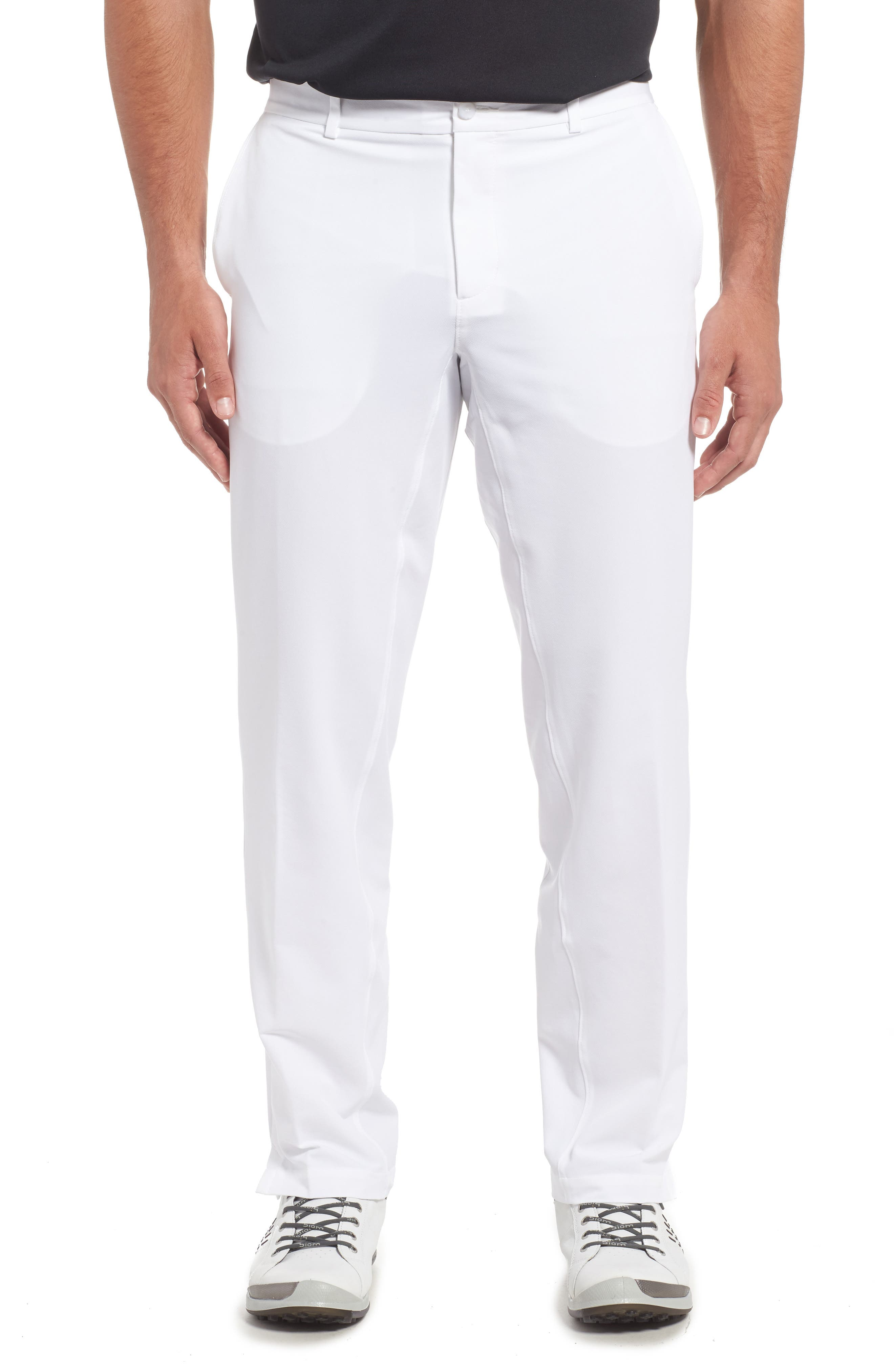 Hybrid Flex Golf Pants,                         Main,                         color, White/ Wolf Grey