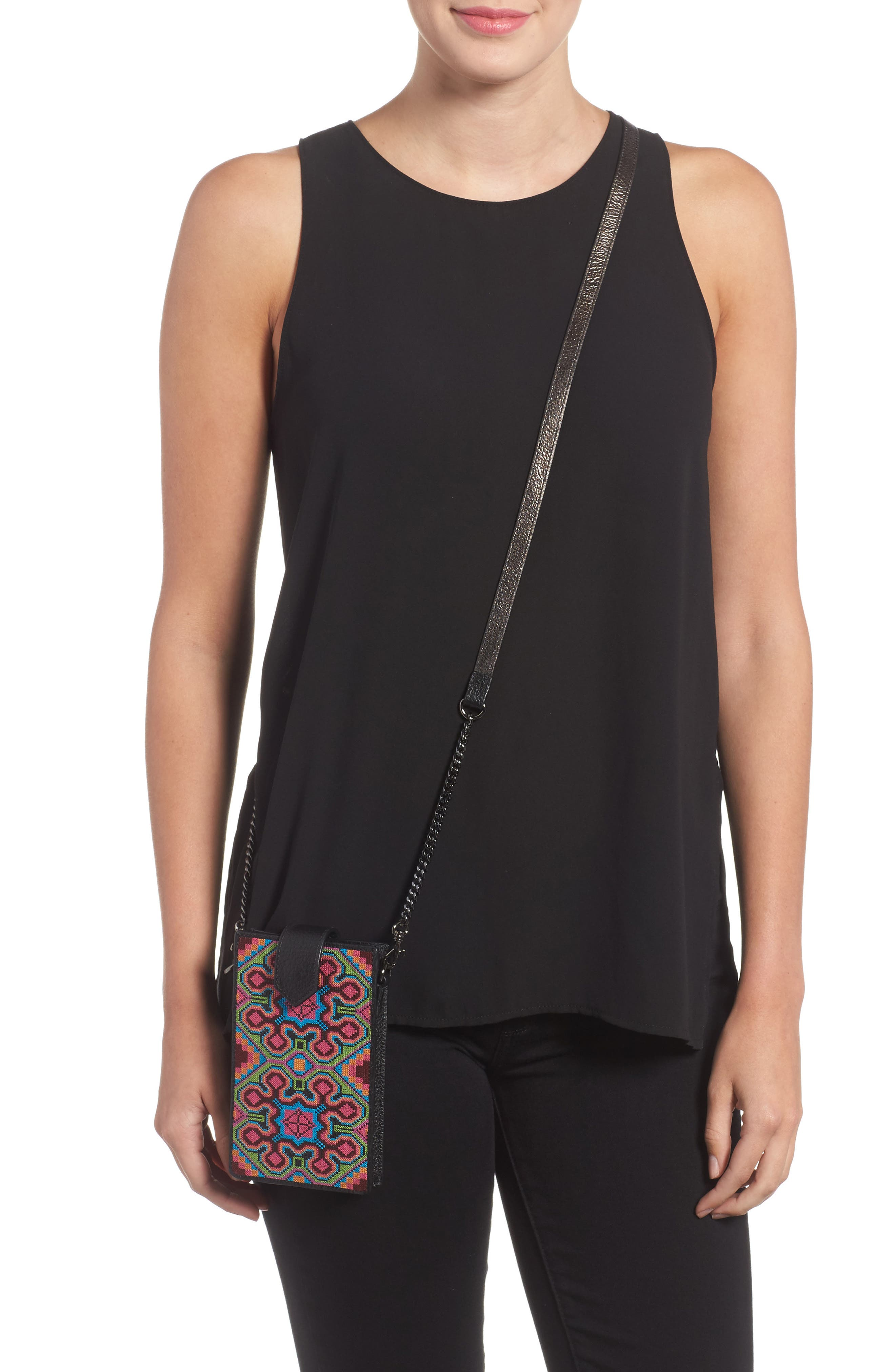 Alternate Image 2  - Botkier Leather Phone Crossbody Case (Nordstrom Exclusive)