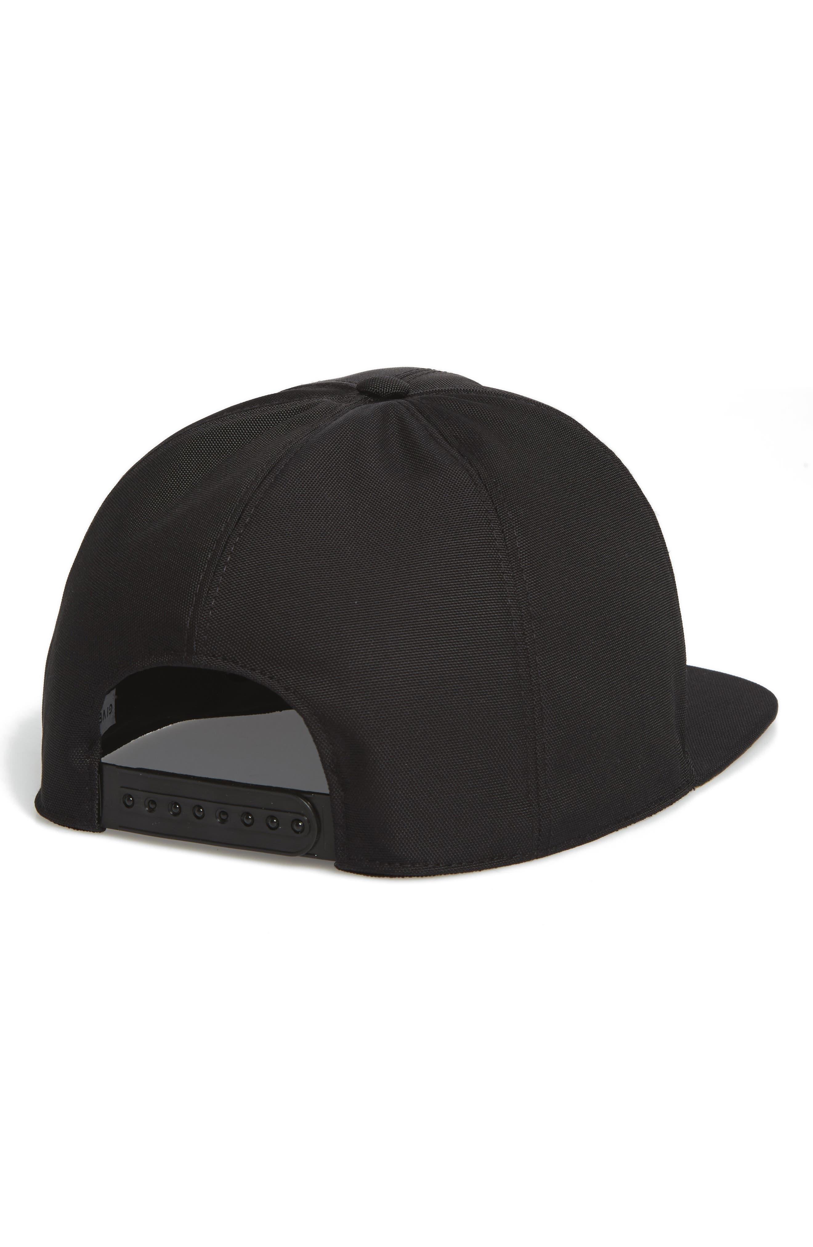 Embroidered Baseball Cap,                             Alternate thumbnail 2, color,                             Black Multi