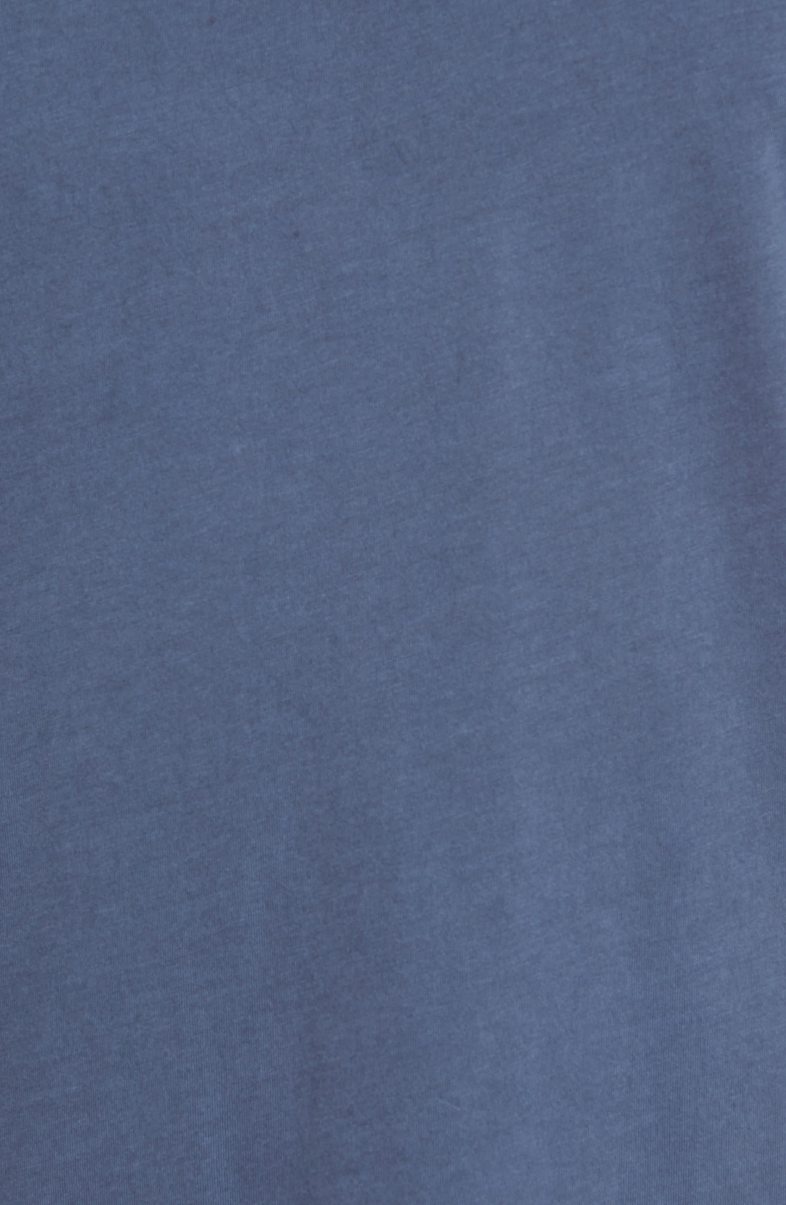 Flintlock Stripe T-Shirt,                             Alternate thumbnail 4, color,                             Pigment Blue Grey