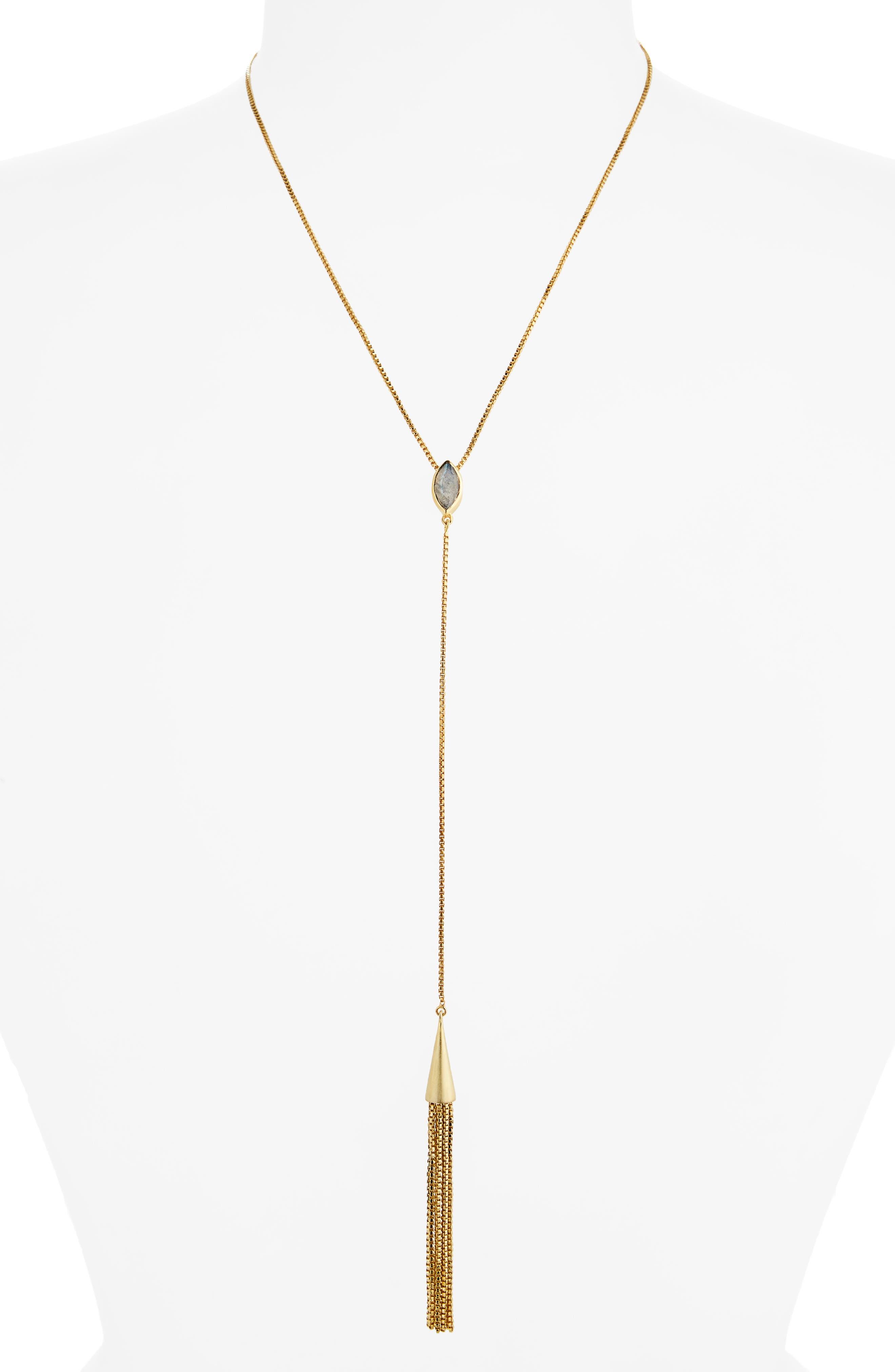 Dean Davidson Ornate Tassel Y-Necklace