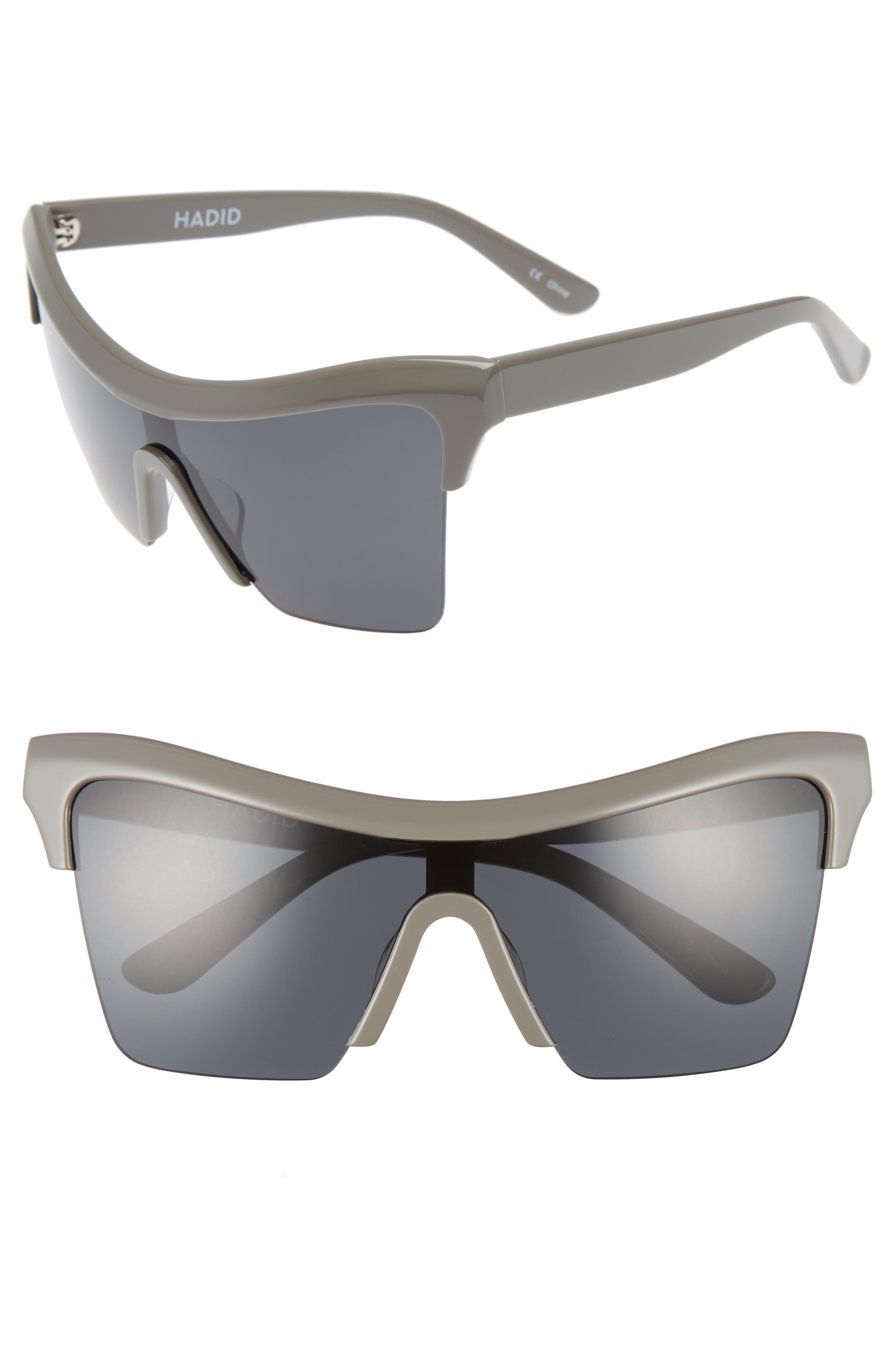 Passport Control 68mm Sunglasses,                             Main thumbnail 1, color,                             Grey