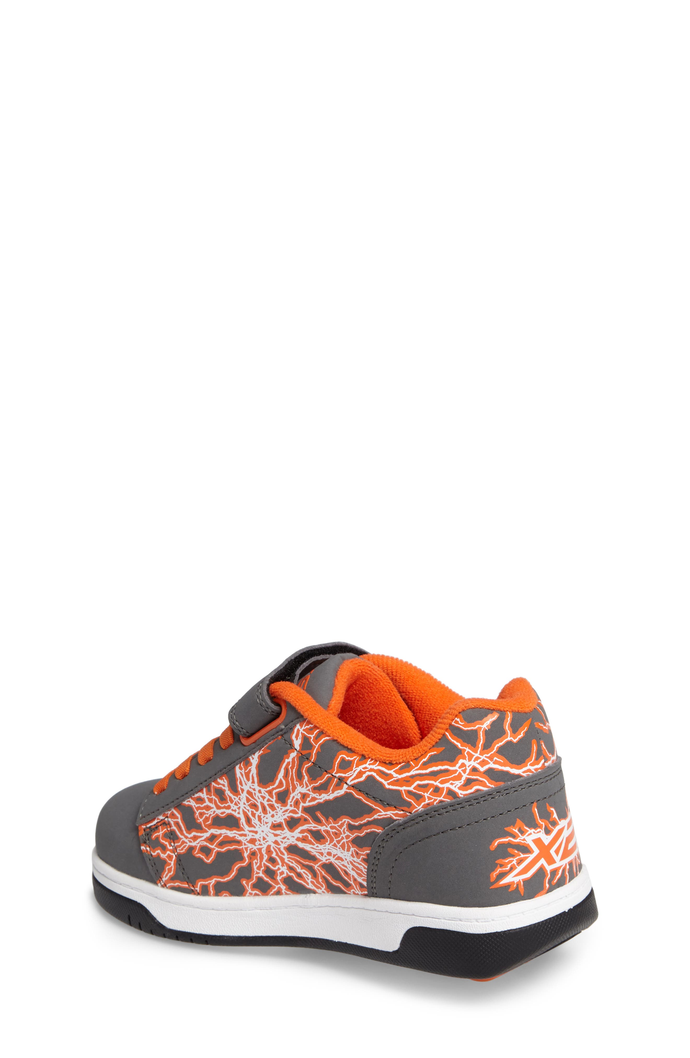 'Dual Up X2' Sneaker,                             Alternate thumbnail 2, color,                             Charcoal/ Orange/ Electricity