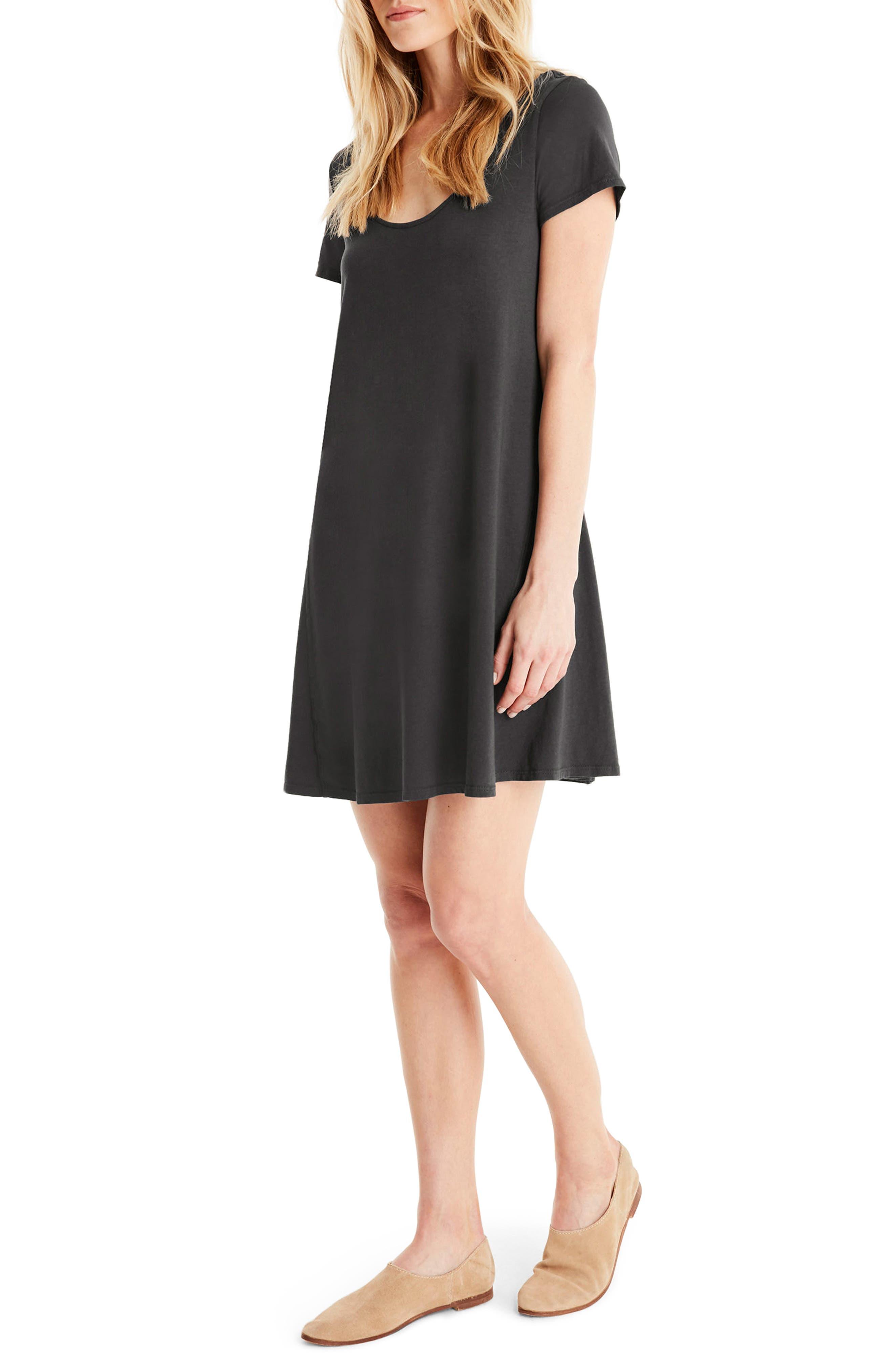 Alternate Image 3  - Michael Stars A-Line Dress