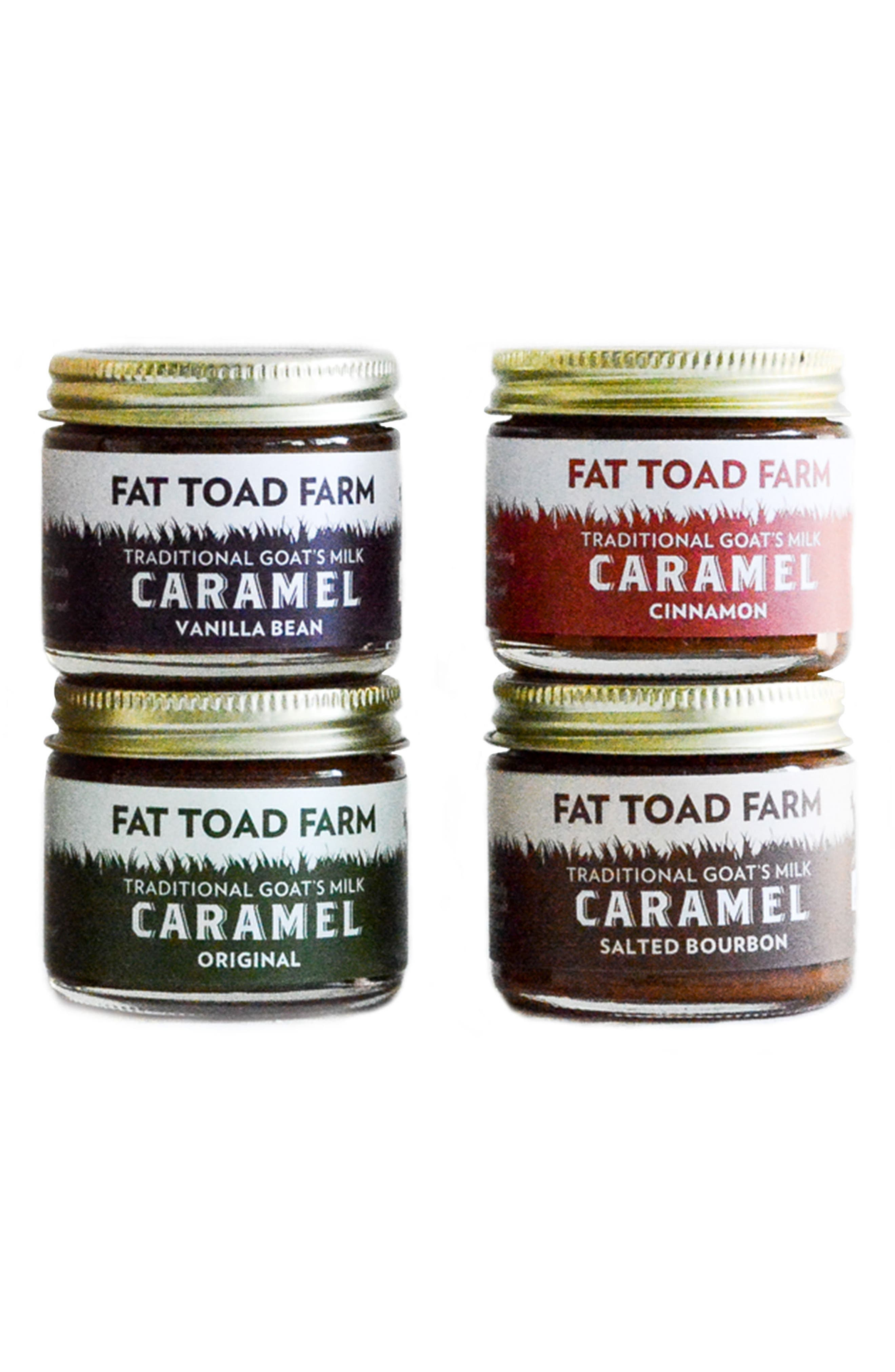 Fat Toad Farm Petit Goat's Milk Caramel Quartet
