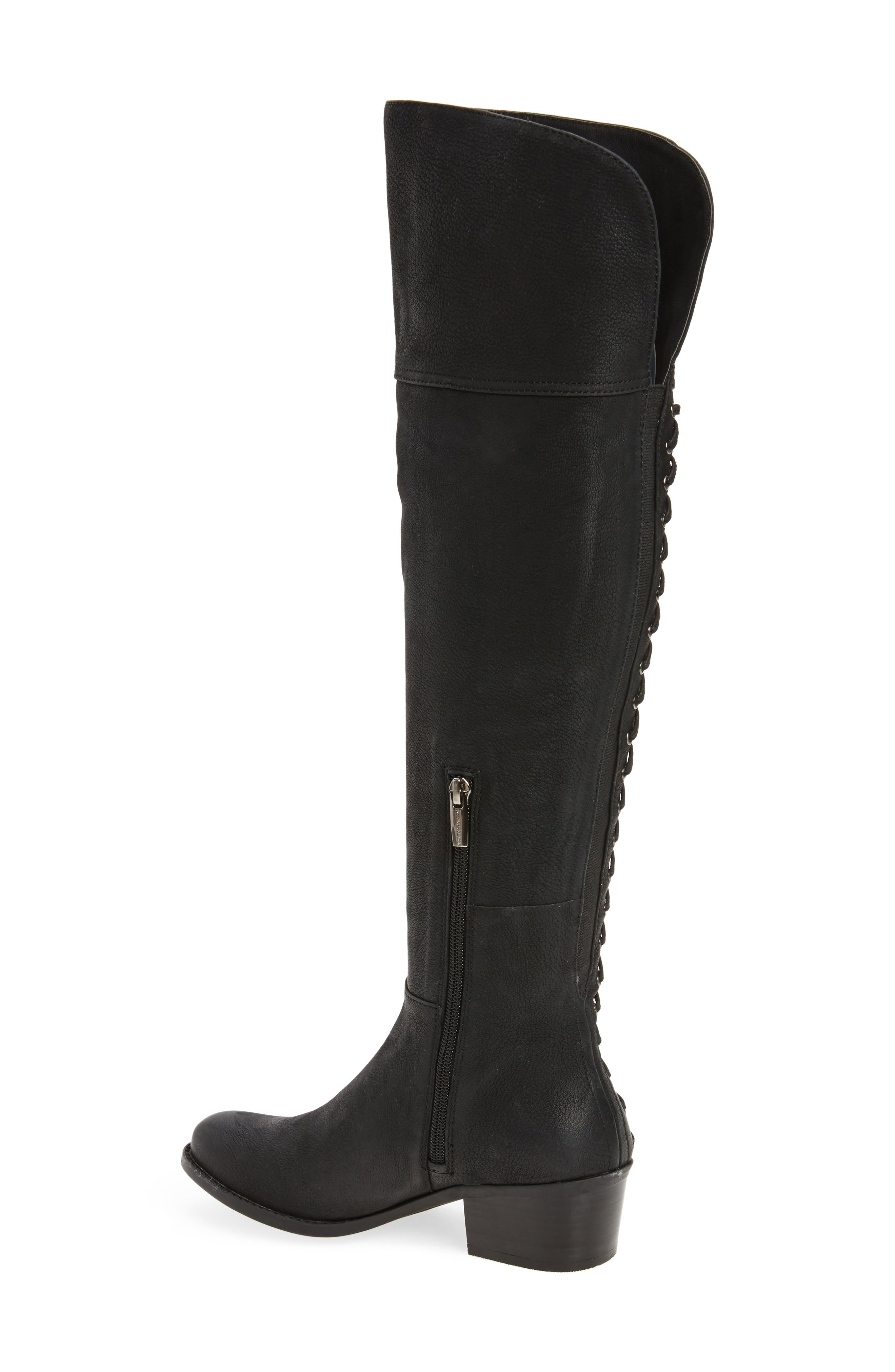 Bolina Over the Knee Boot,                             Alternate thumbnail 2, color,                             Black