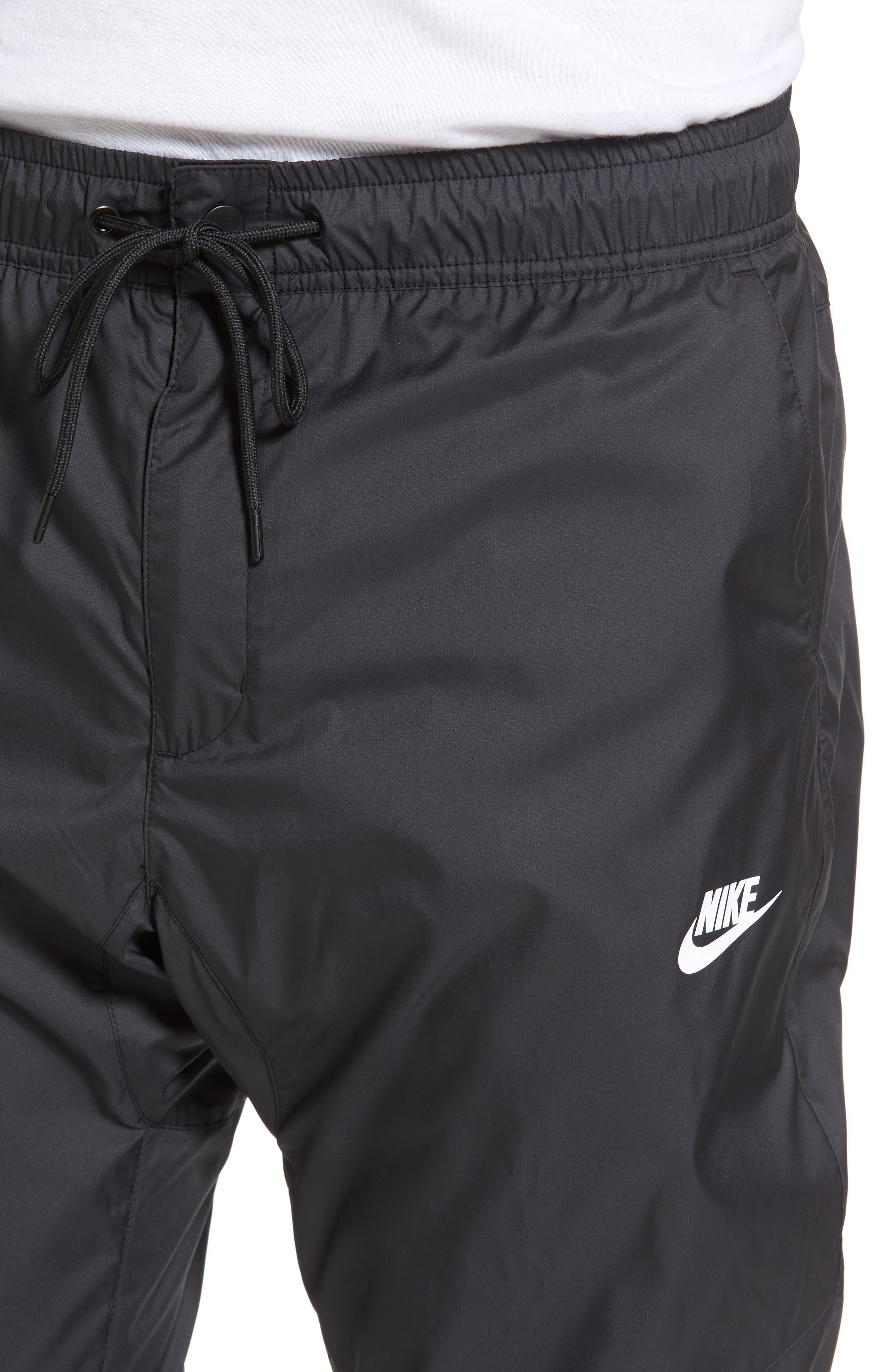 Windrunner Training Pants,                             Alternate thumbnail 4, color,                             Black/ Black/ Black/ White