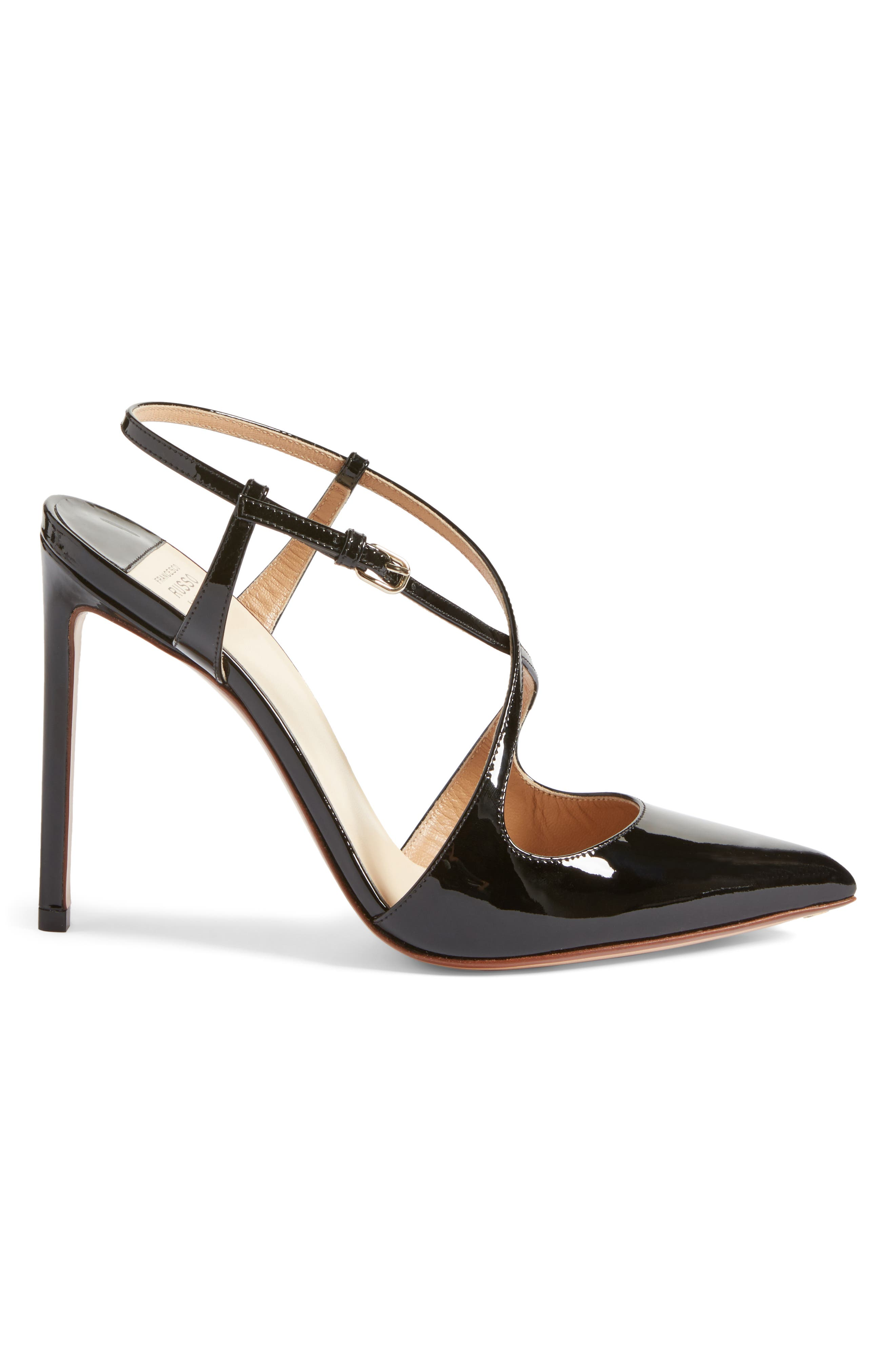 Alternate Image 3  - Francesco Russo Criss Cross Pump (Women)