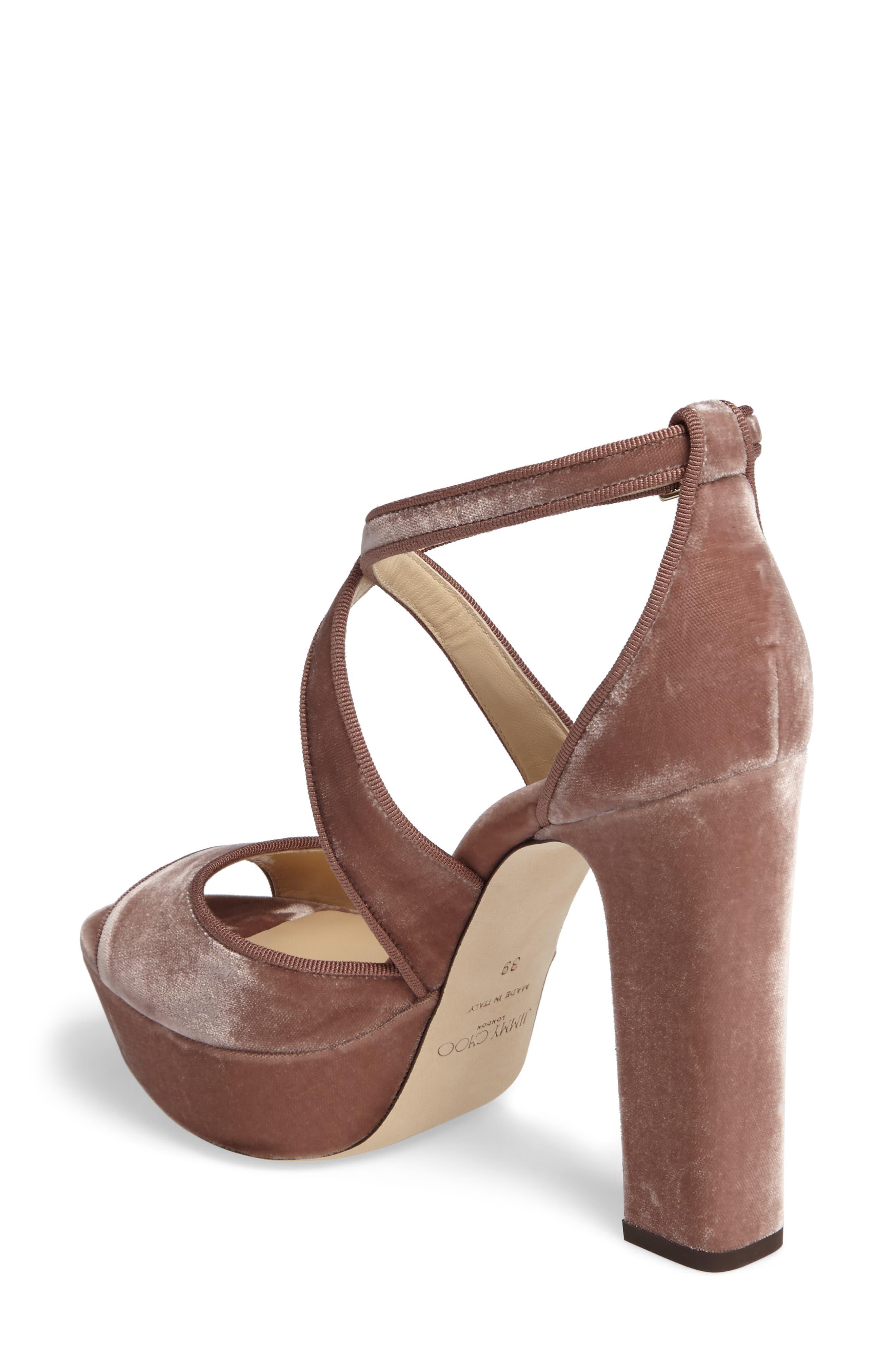 Alternate Image 2  - Jimmy Choo April Platform Sandal (Women)