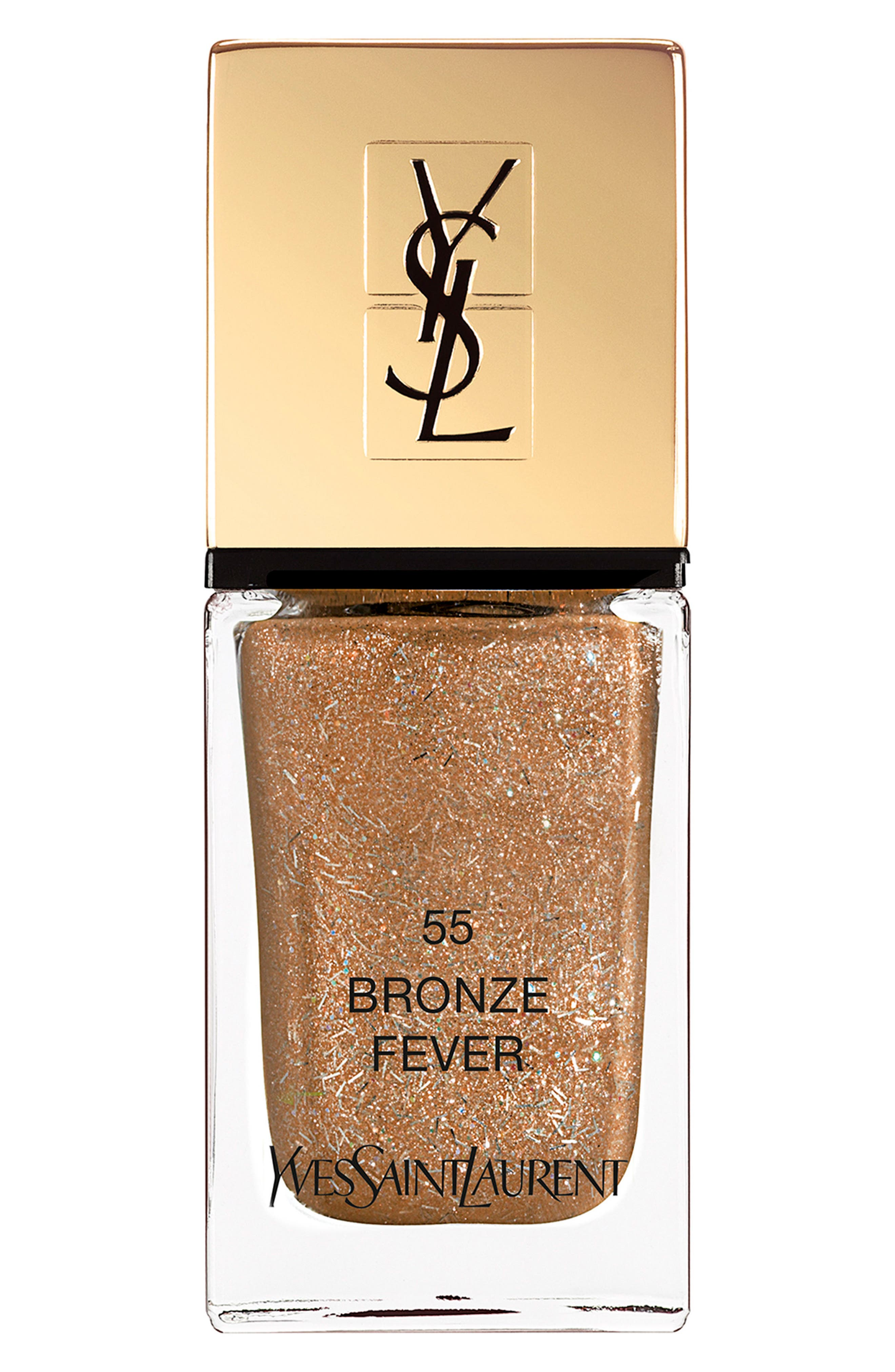 'La Laque Couture' Night 54 Fall Collection Nail Lacquer,                             Main thumbnail 1, color,                             55 Dancing Bronze