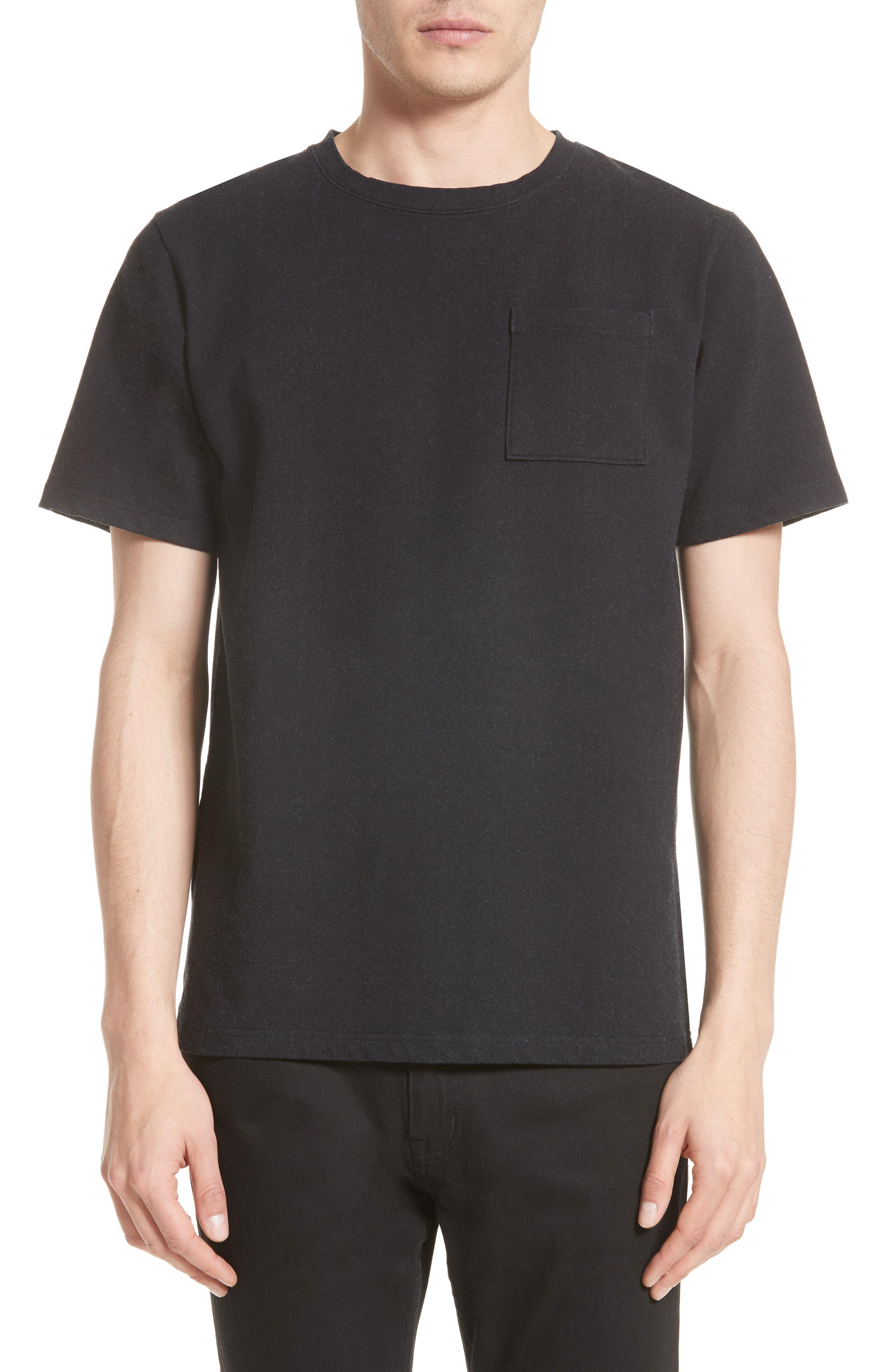 Randall Pocket T-Shirt,                         Main,                         color, Bleach Indigo