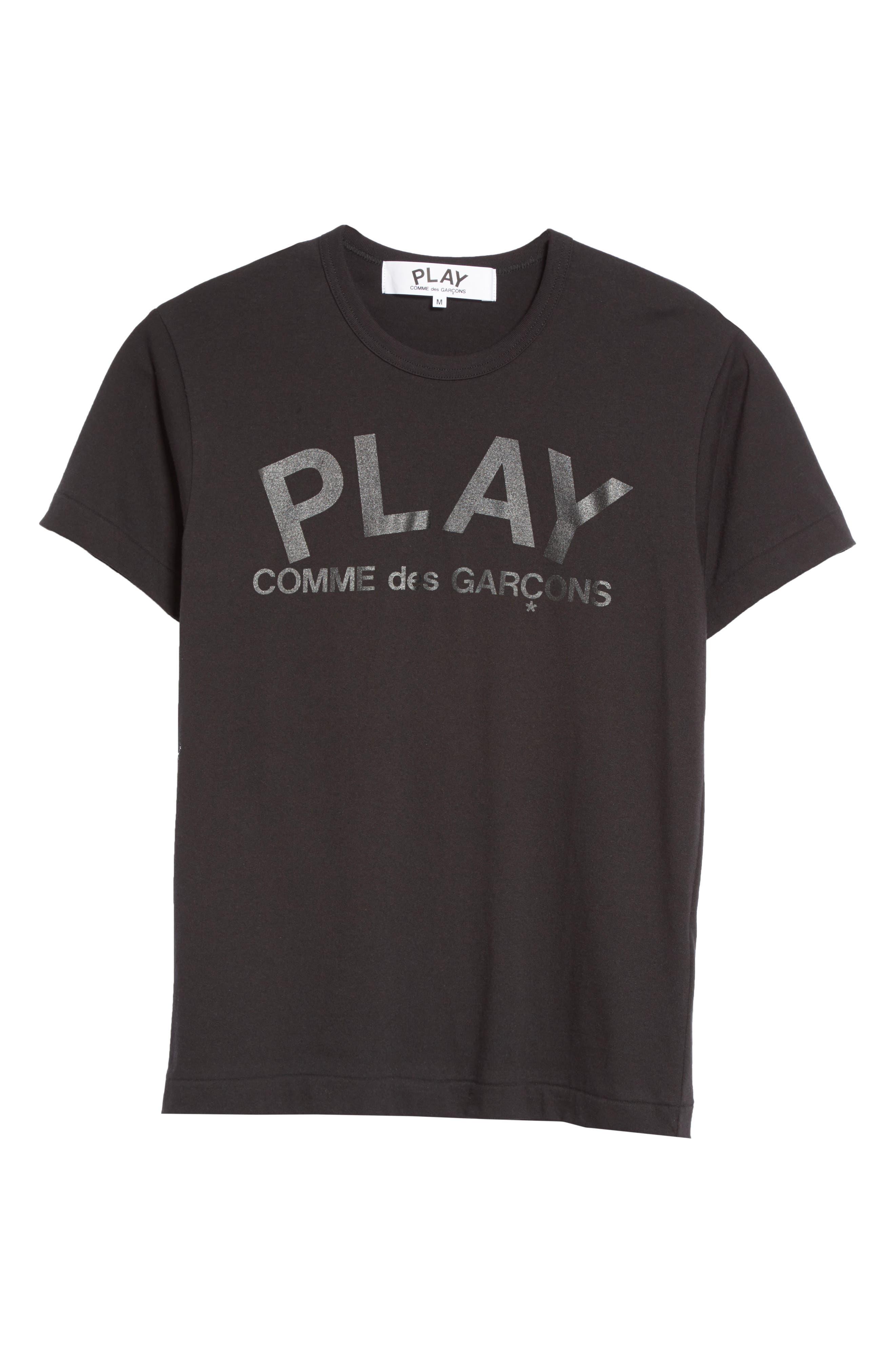 Alternate Image 6  - Comme des Garçons PLAY Graphic T-Shirt