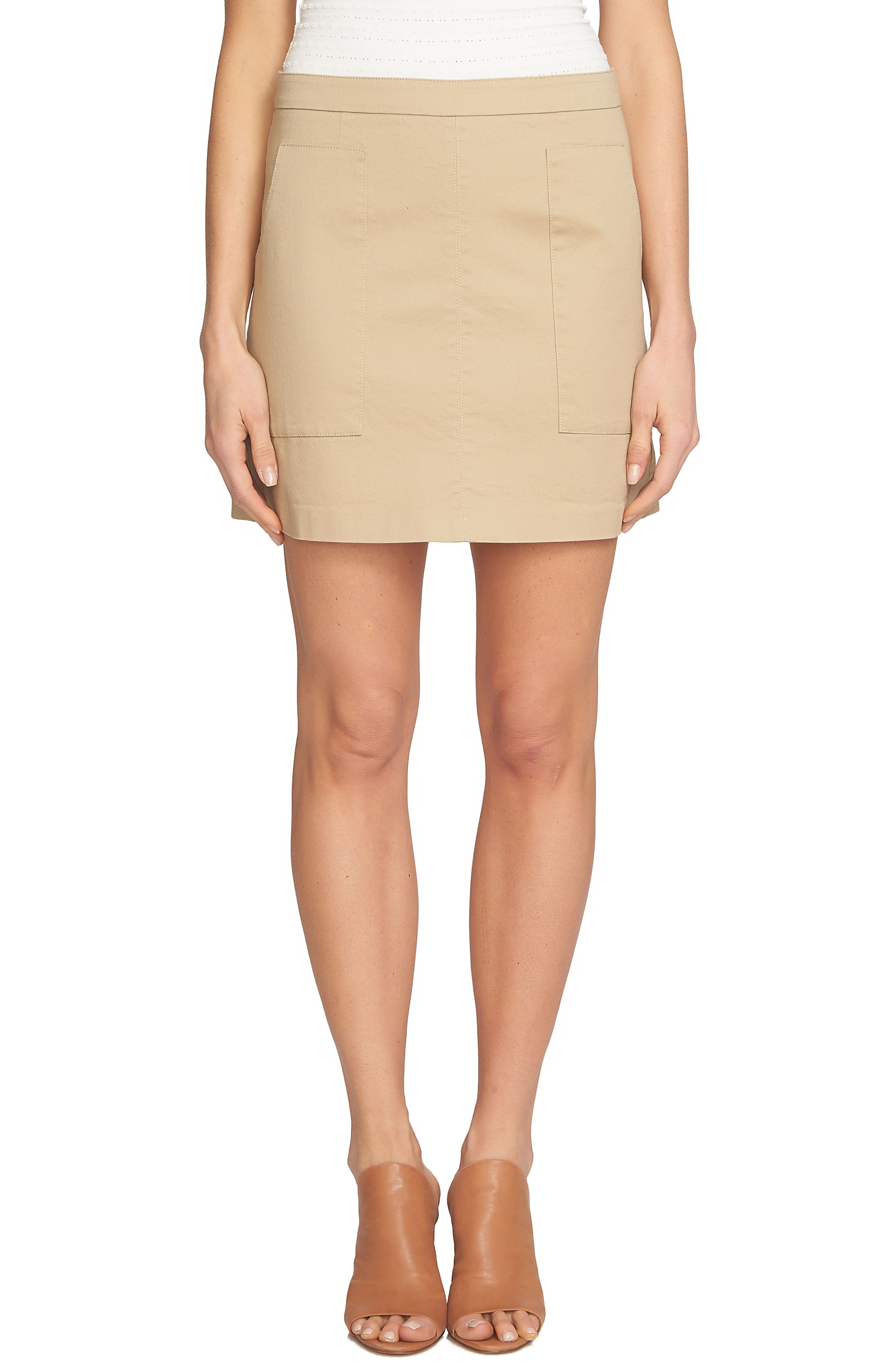1.STATE Patch Pocket Skirt