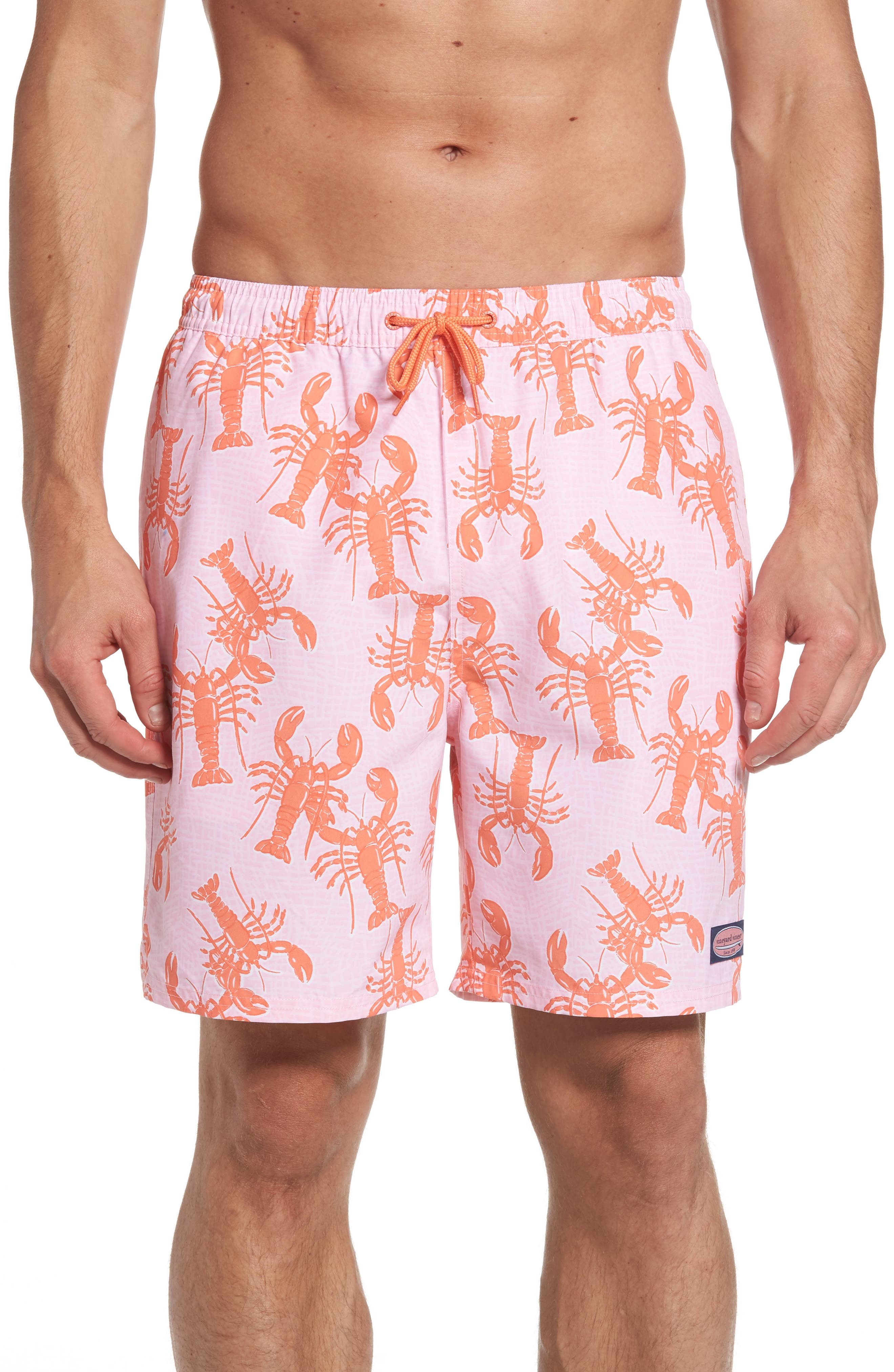 Vineyard Vines Lobster Toss Chappy Swim Trunks