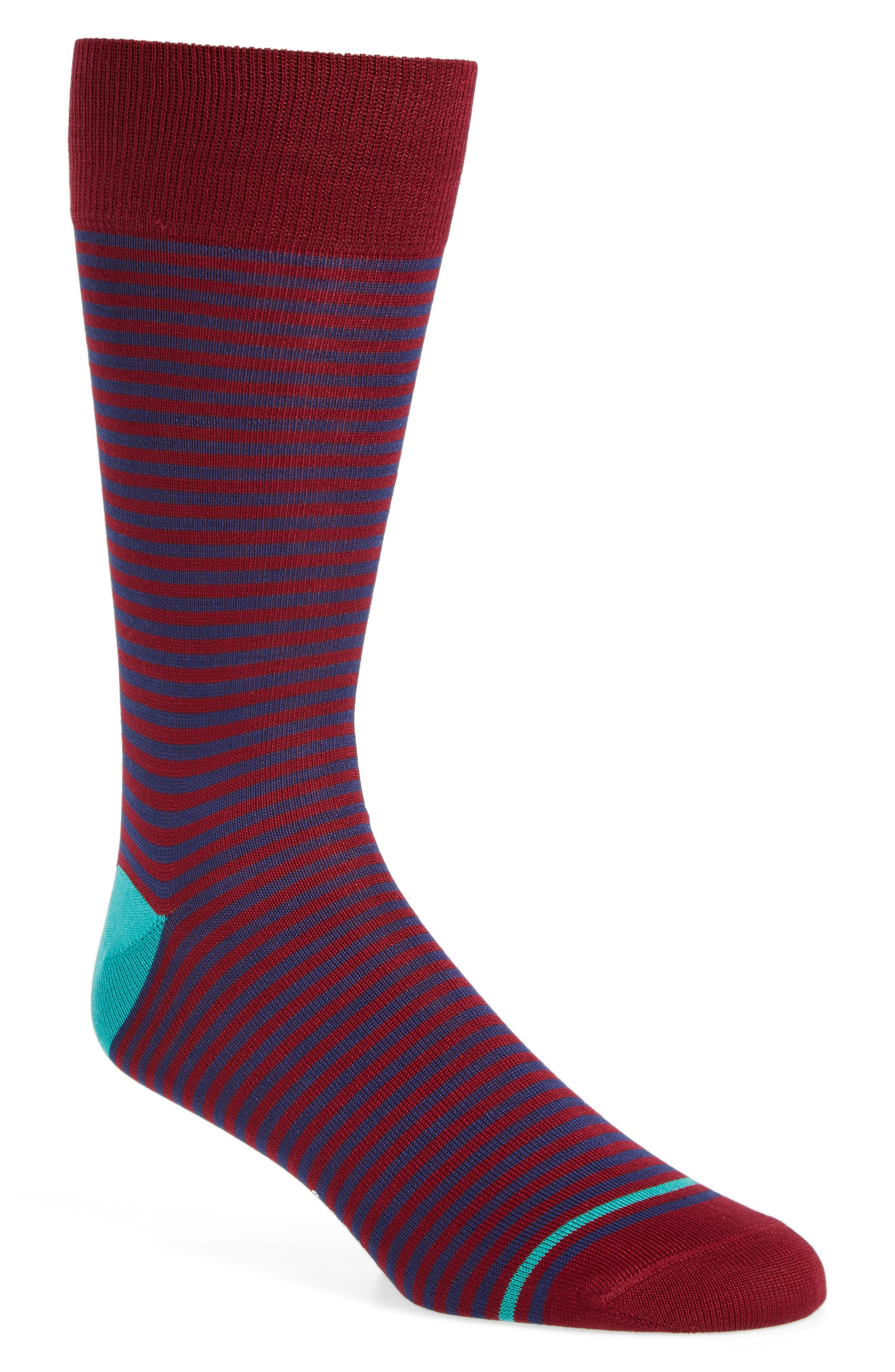 Alternate Image 1 Selected - Paul Smith Marsden Stripe Socks