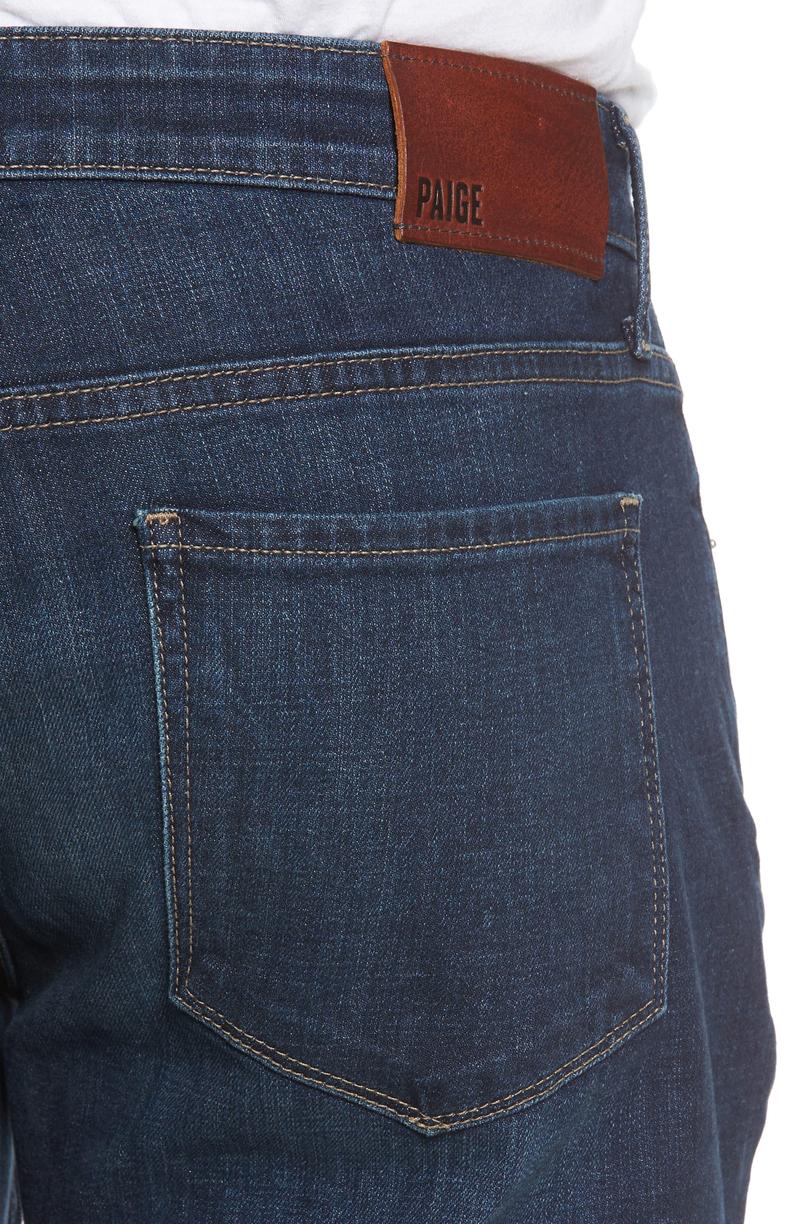 Alternate Image 4  - PAIGE Federal Slim Straight Leg Jeans (Arnold)