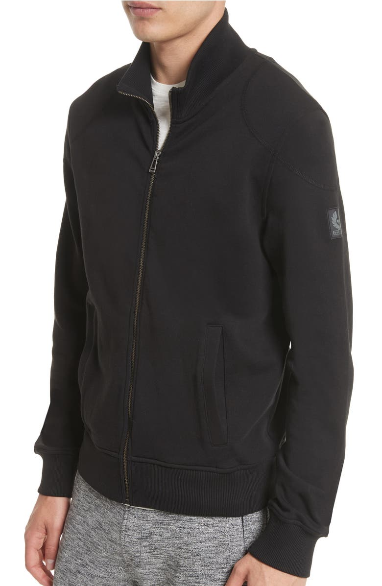 1927540e3a7e staplefield-mock-neck-full-zip-sweater by belstaff